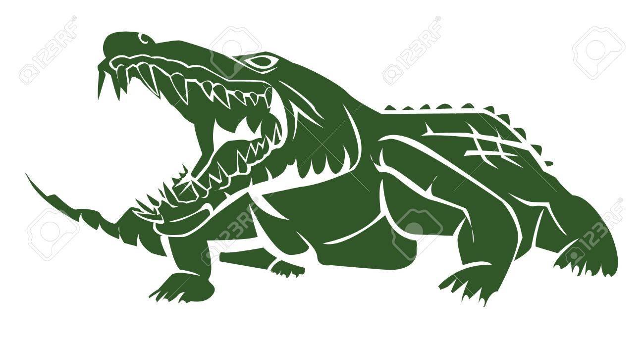 crocodile Stock Vector - 17444576