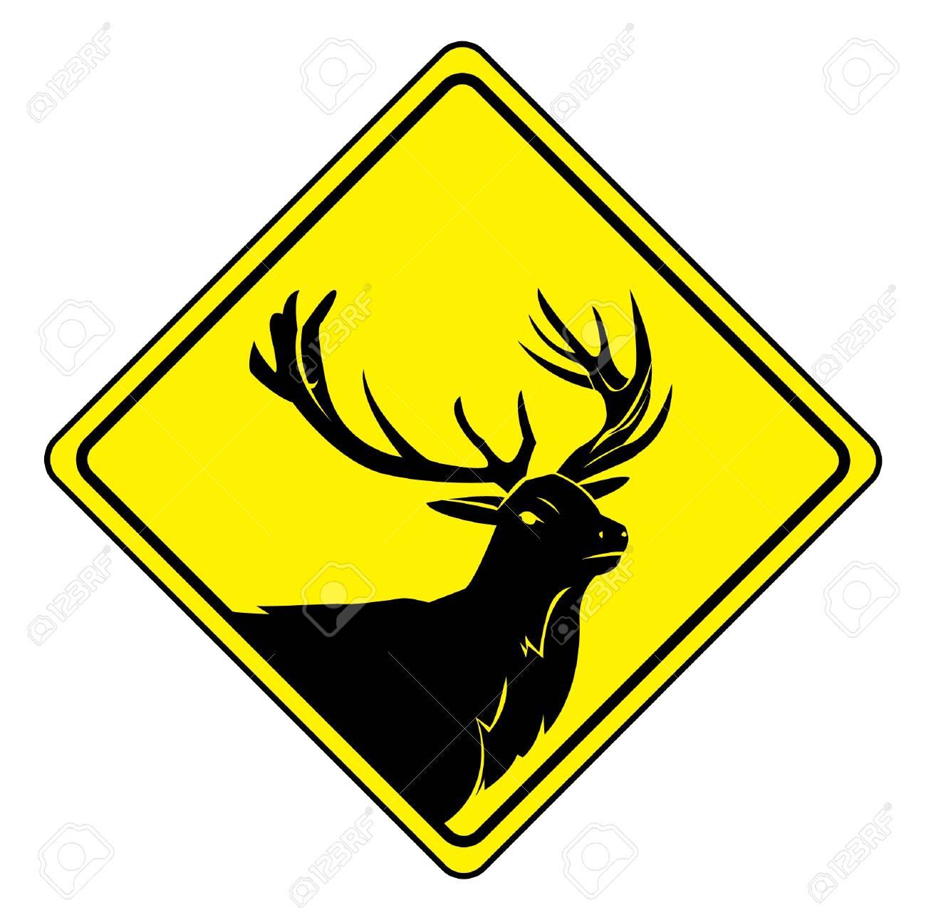 deer sign Stock Vector - 17444748
