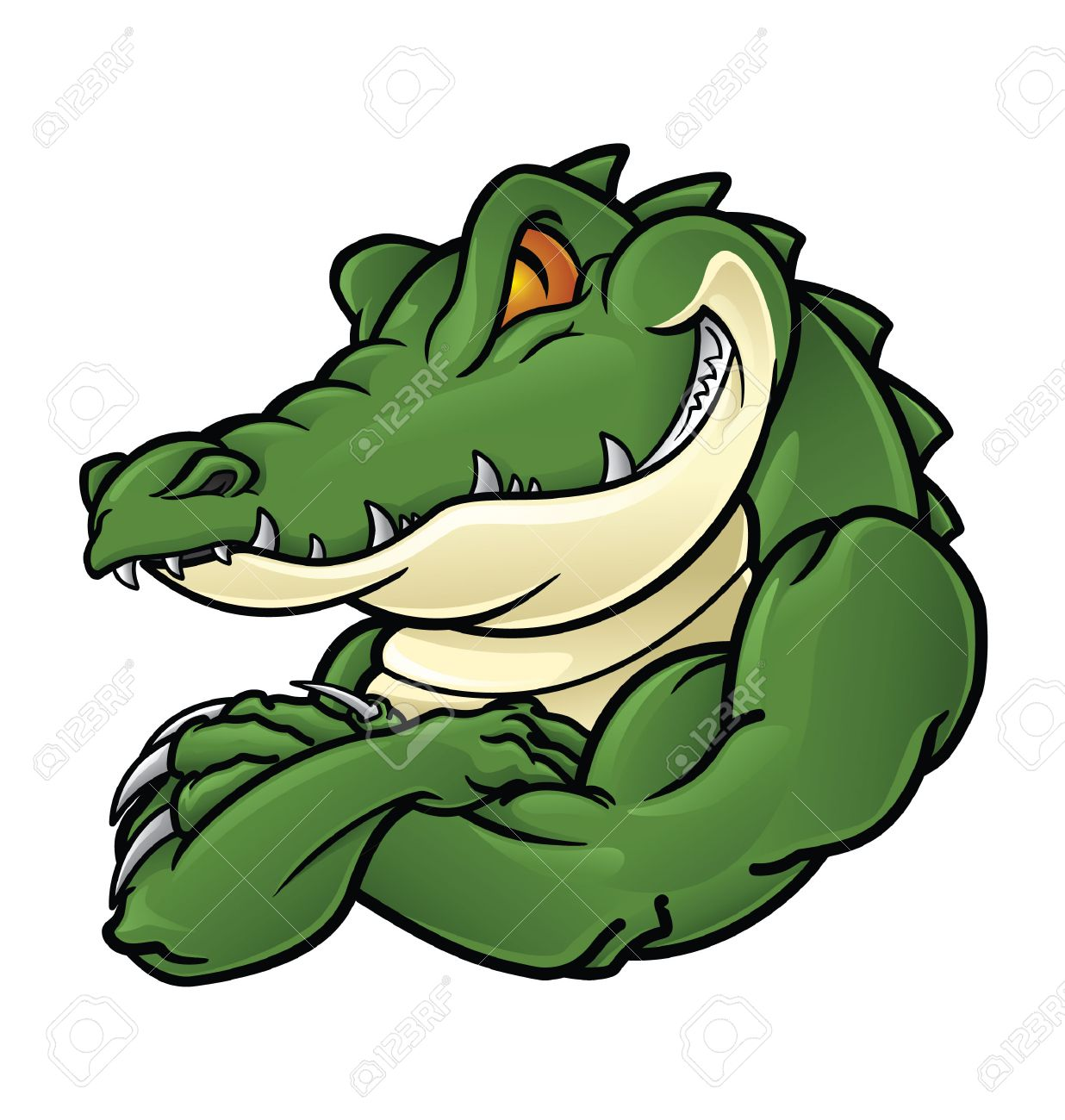 644 Cartoon Gator Stock Illustrations, Cliparts And Royalty Free ...