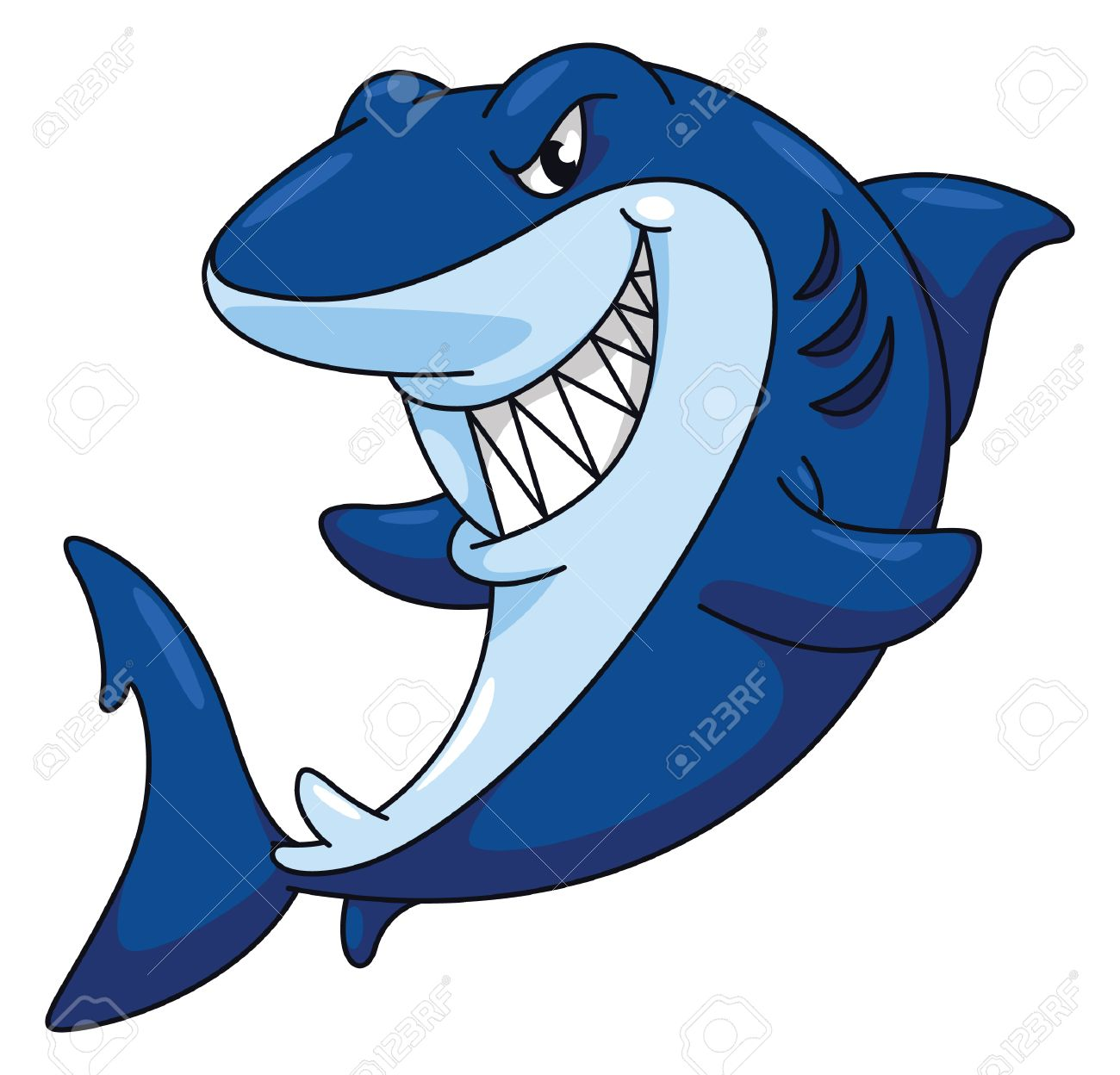 shark images cartoon  Shark Funny Cartoon Royalty Free Cliparts, Vectors, And Stock ...