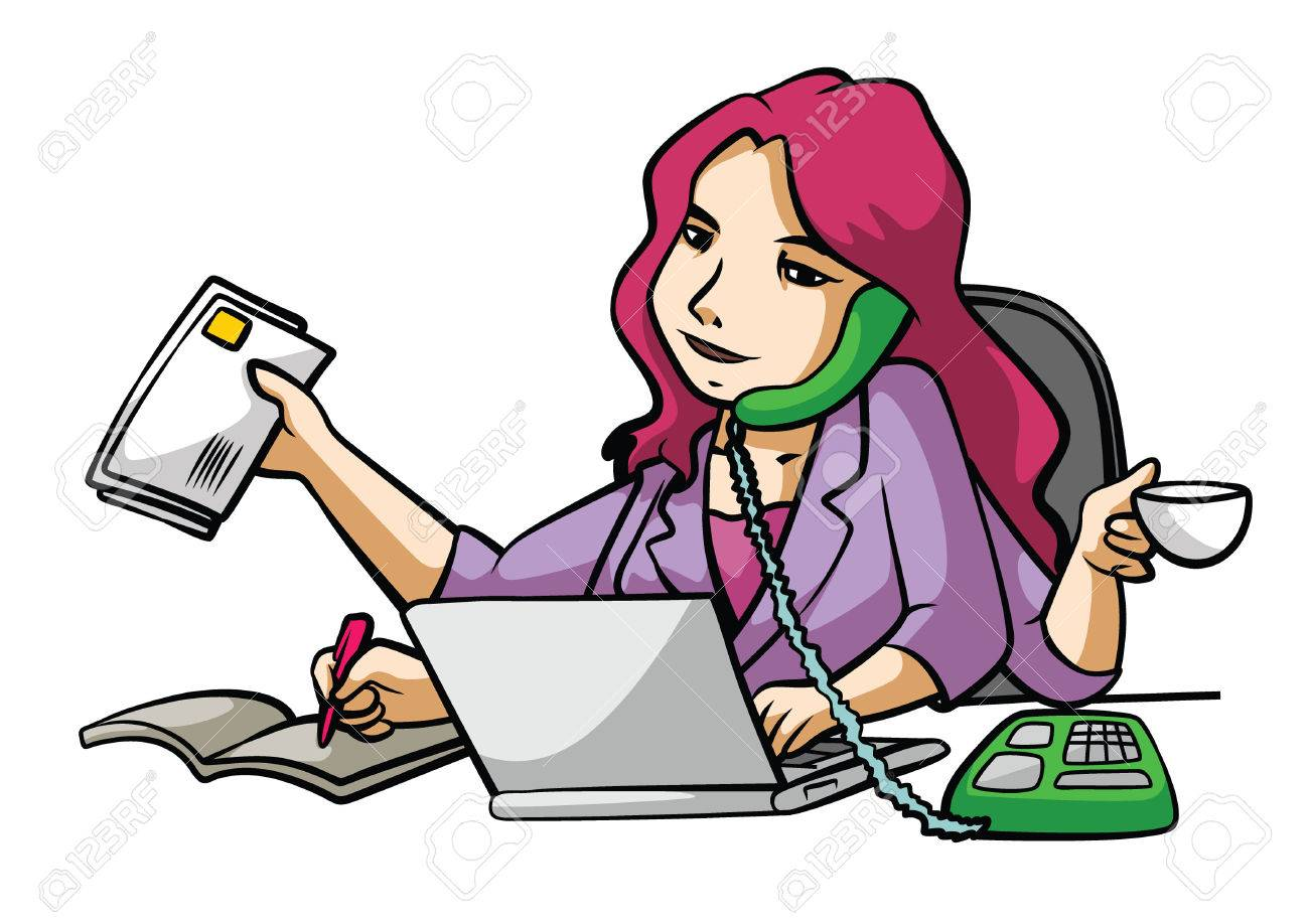 Busy Clipart