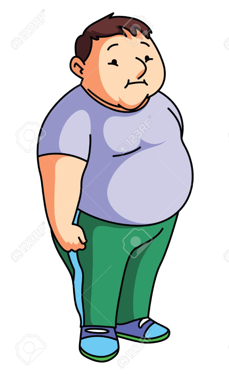 fat man royalty free cliparts vectors and stock illustration rh 123rf com