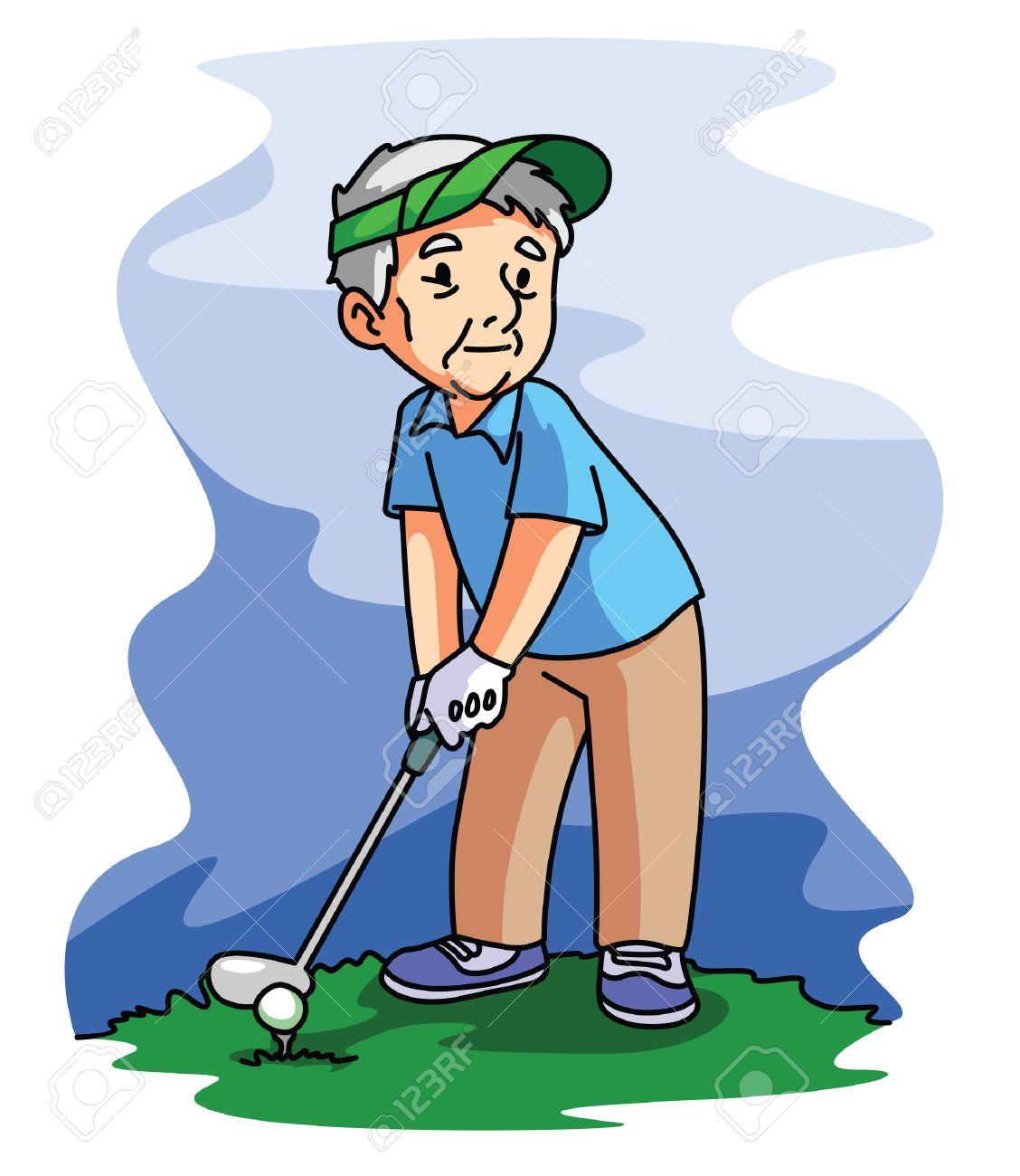 Resultado de imagen para jugar golf animado