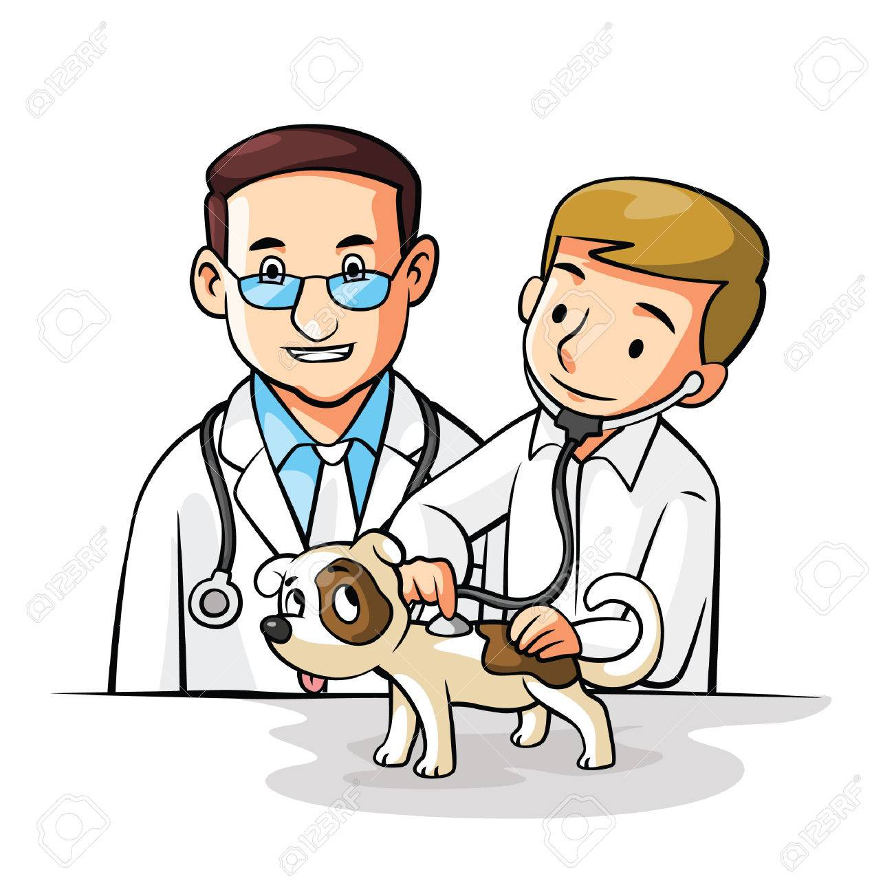 pet doctor royalty free cliparts vectors and stock illustration rh 123rf com veterinarian clipart free veterinary clip art free