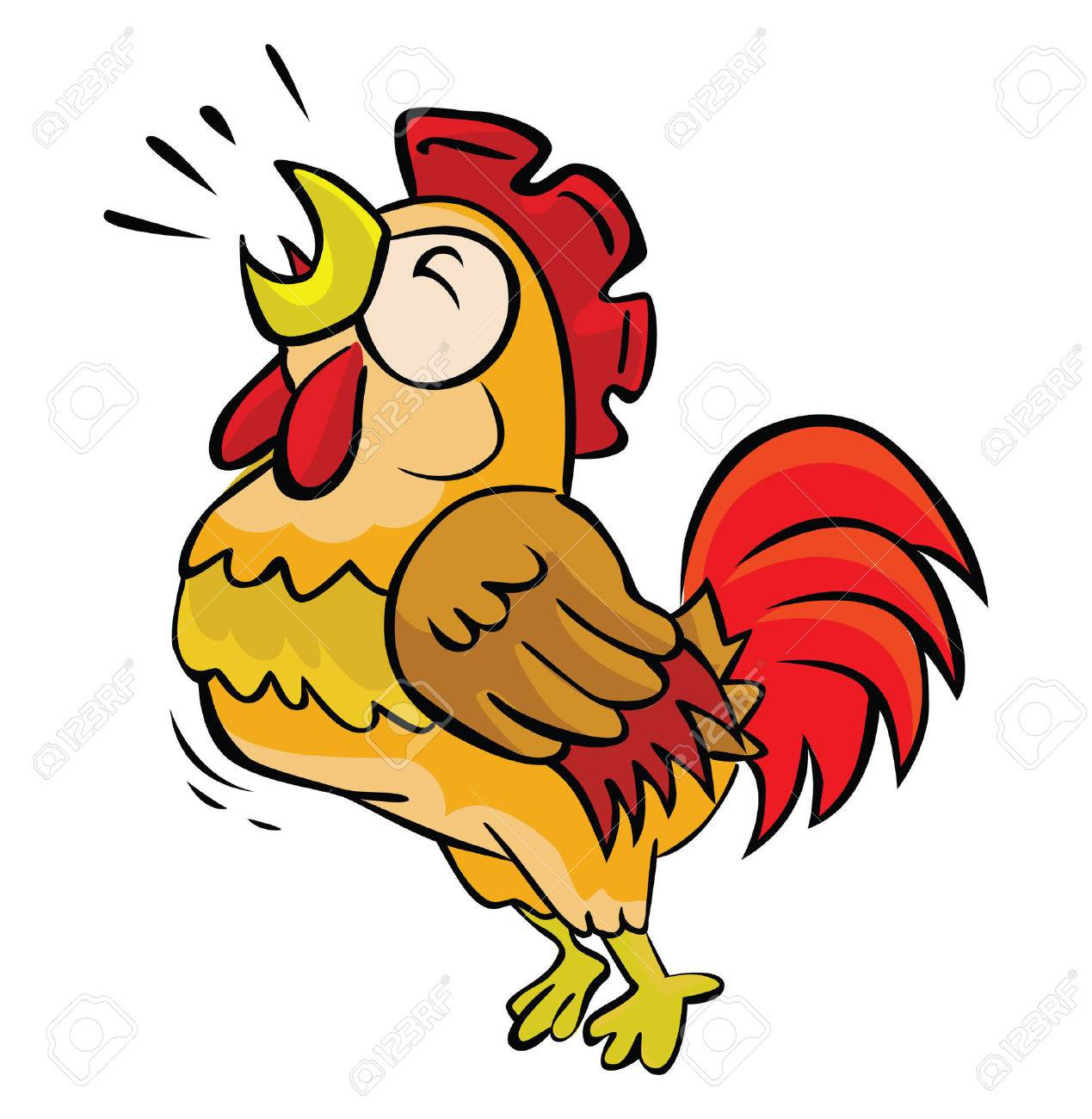 rooster crow royalty free cliparts vectors and stock illustration rh 123rf com rooster clipart png rooster clipart images