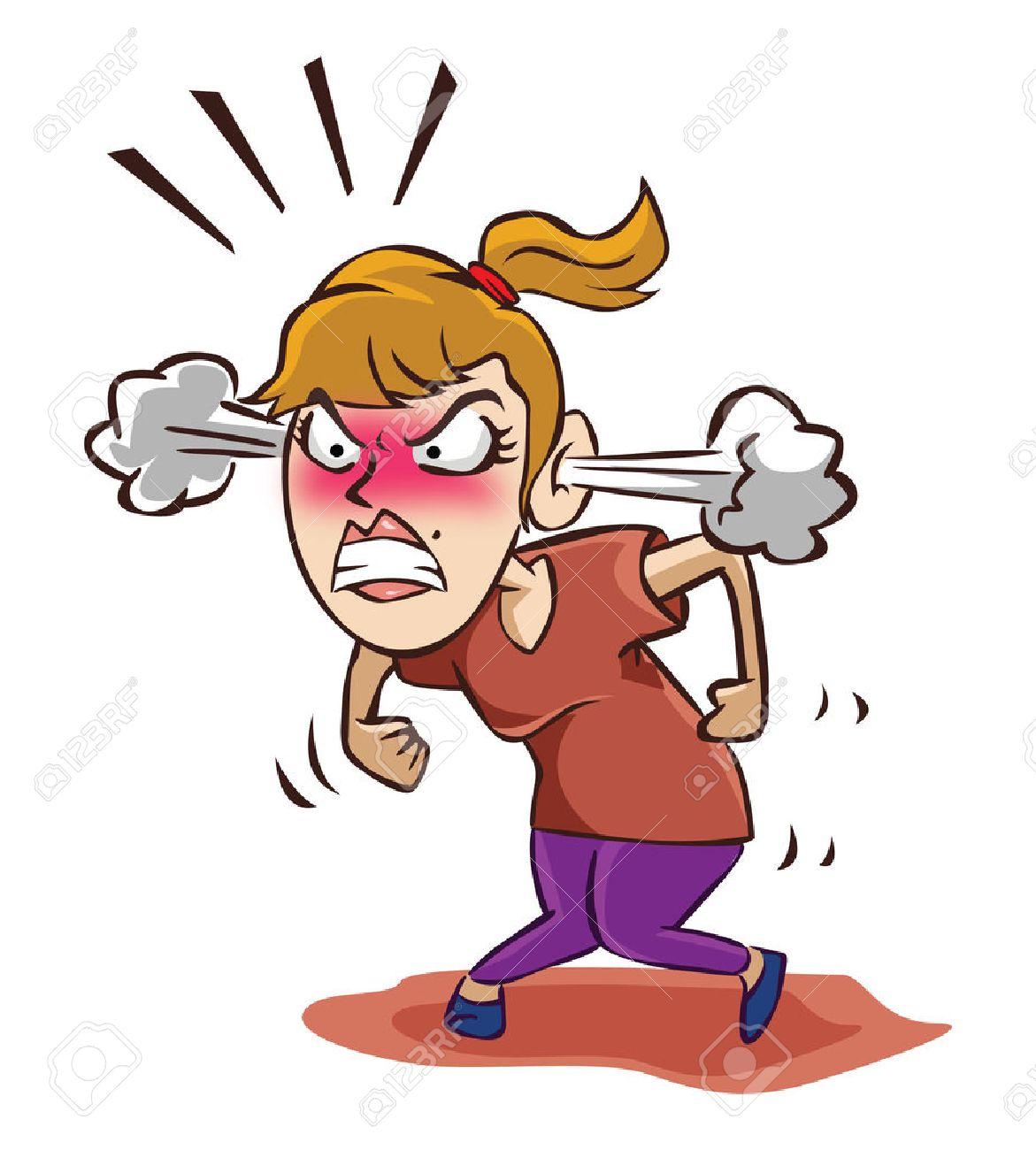Angry woman - 39279427