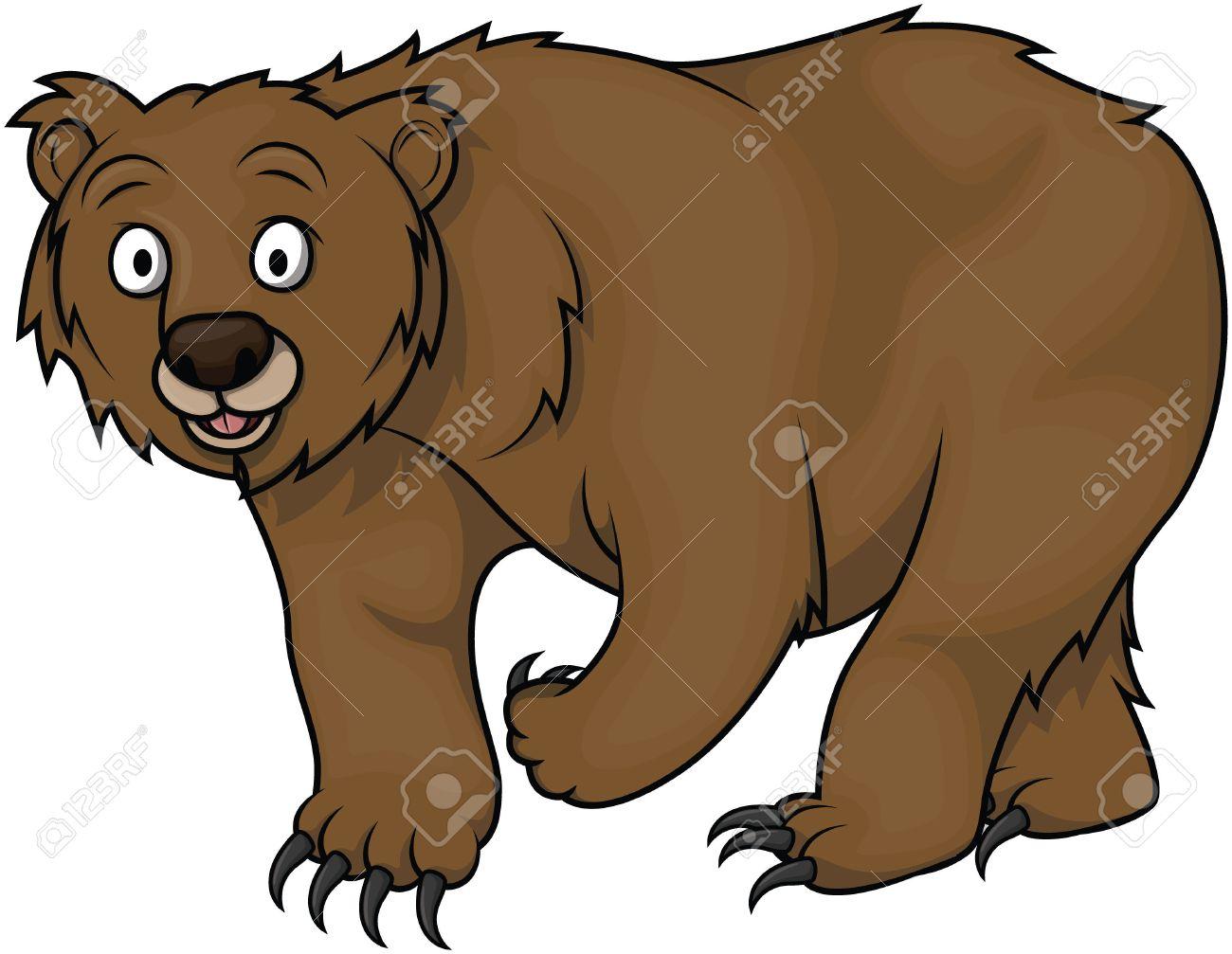 bear cartoon illustration royalty free cliparts vectors and stock rh 123rf com cartoon teddy bear pictures funny cartoon bear pictures