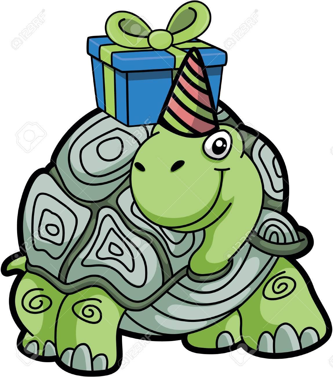 Tiere Alles Gute Zum Geburtstag Schildkrote Lizenzfrei Nutzbare