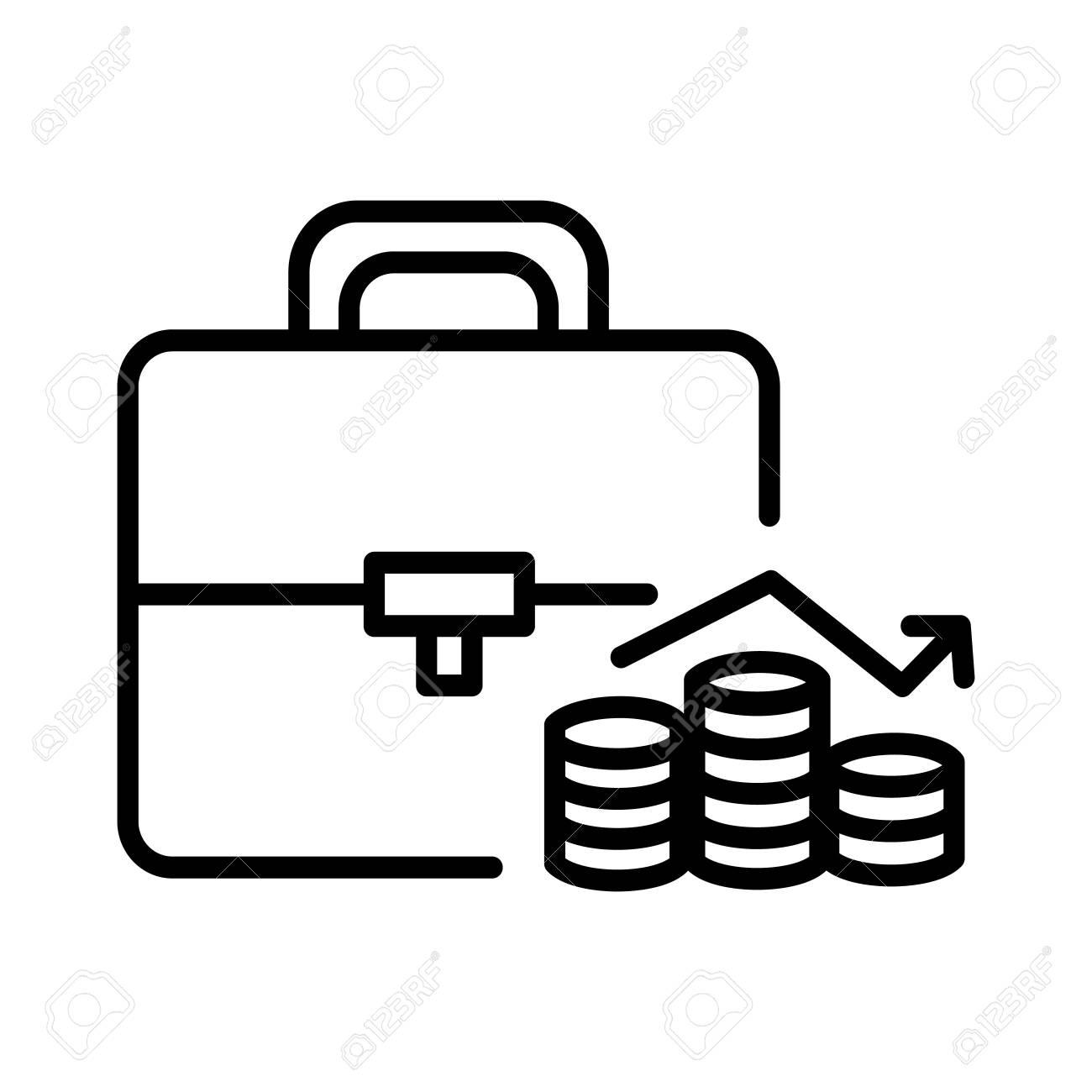 investment portofolio illustration design - 68900315