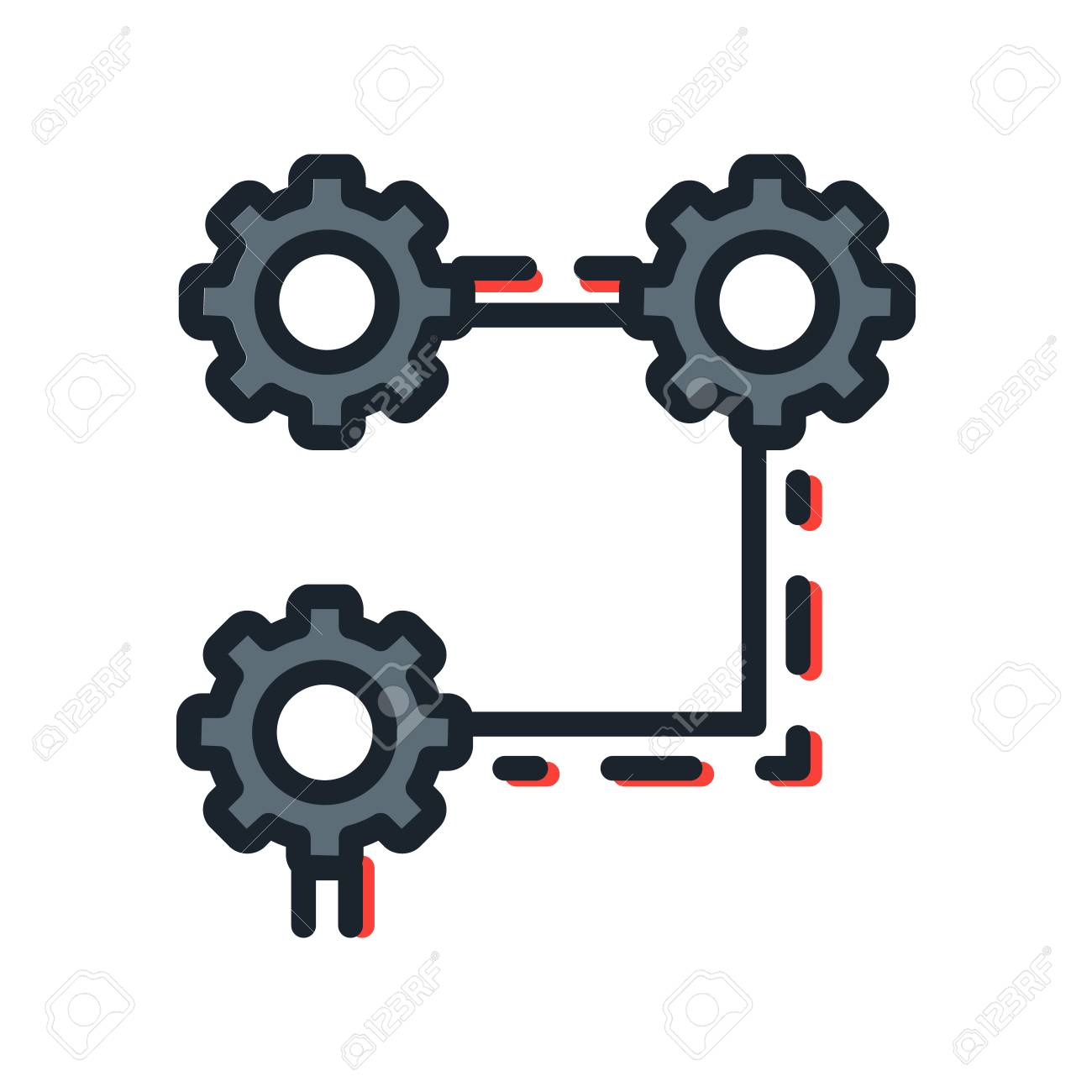 system structure icon color royalty free cliparts vectors and stock illustration image 68564329 system structure icon color