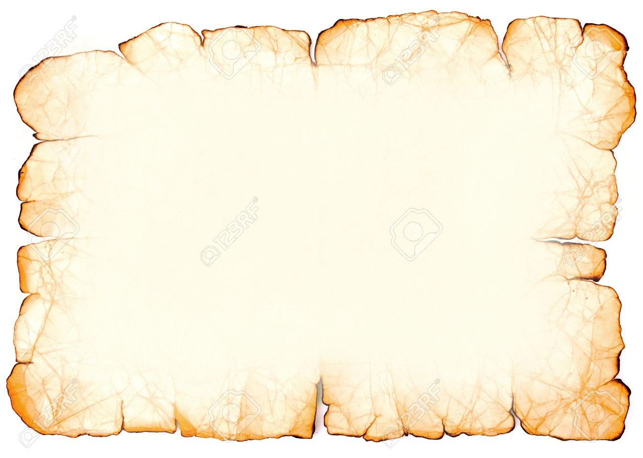 Imitation Of Old Paper. Frame. Stock Photo, Picture And Royalty Free ...
