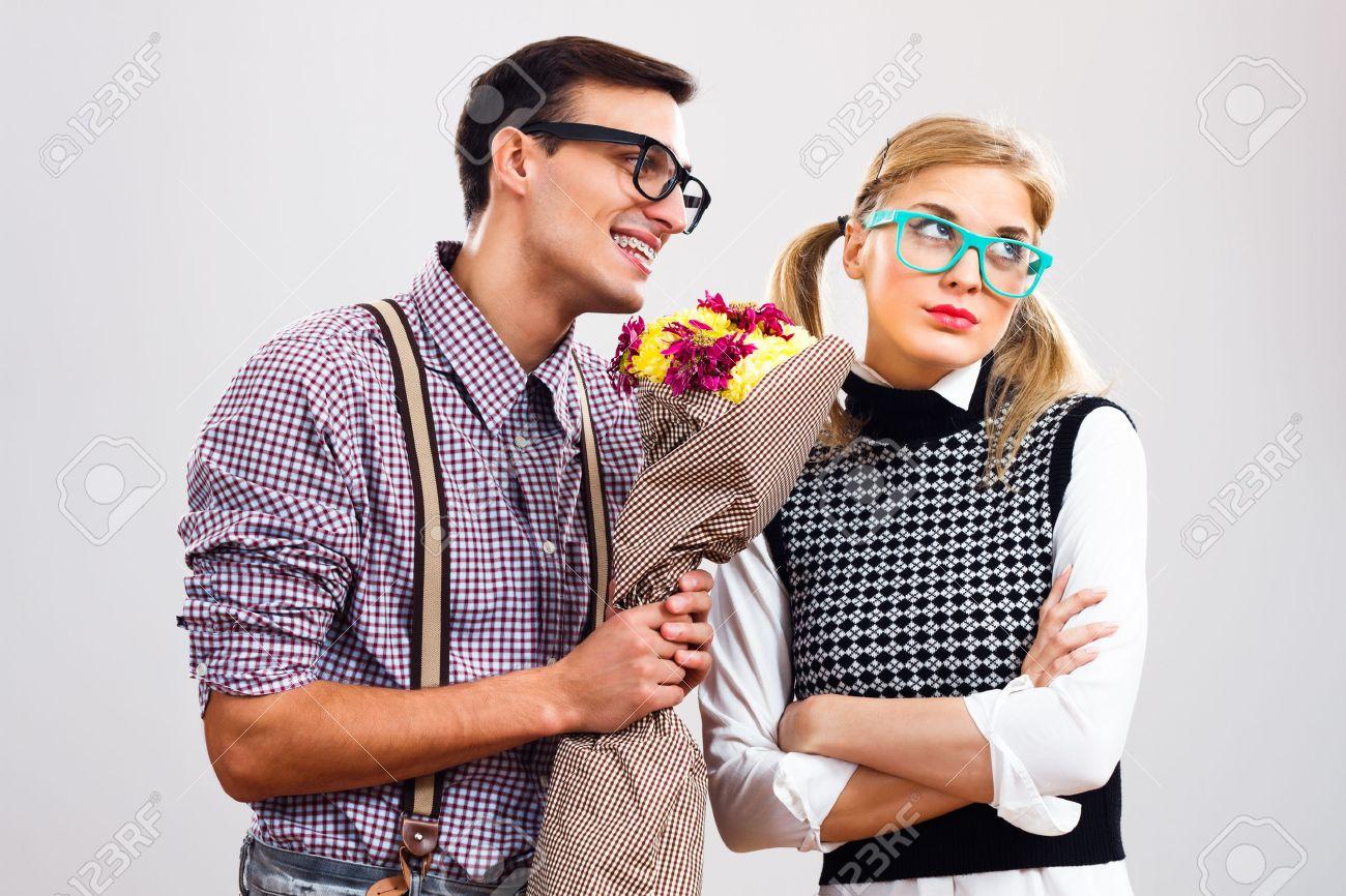 Dating a nerdy man