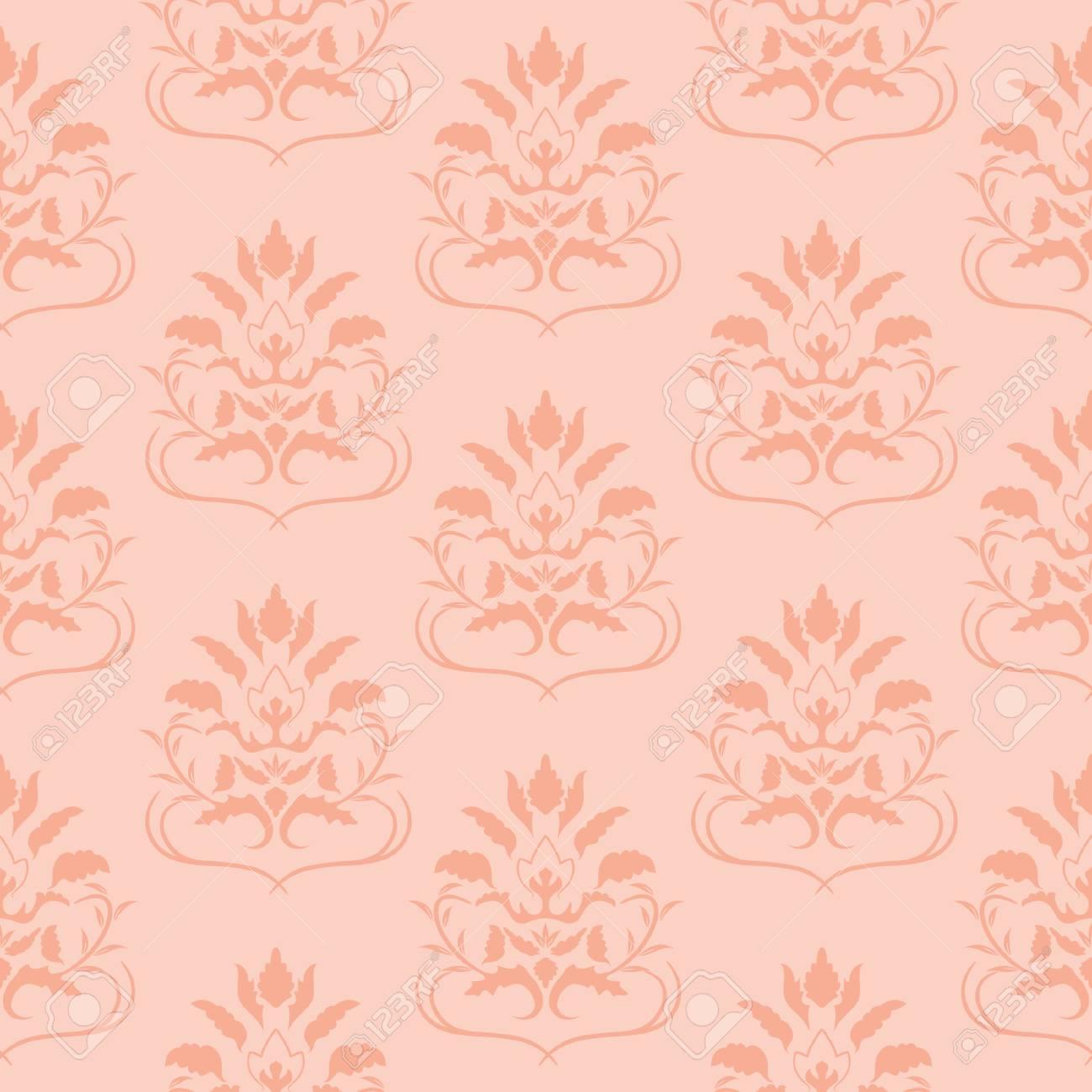 Pink seamless pattern. Vector illustration Stock Vector - 3938939