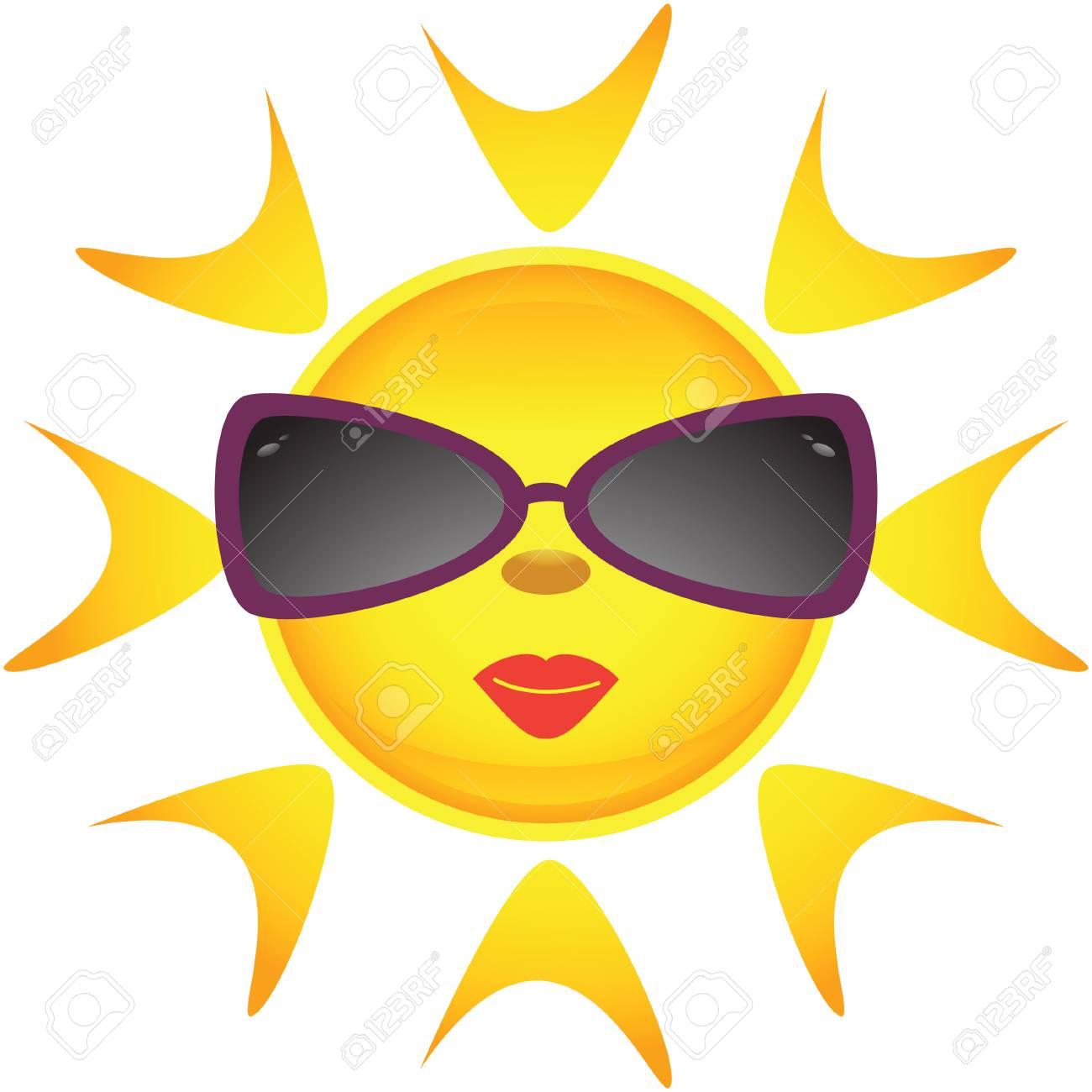 Sun icons. Vector illustration Stock Vector - 5075147