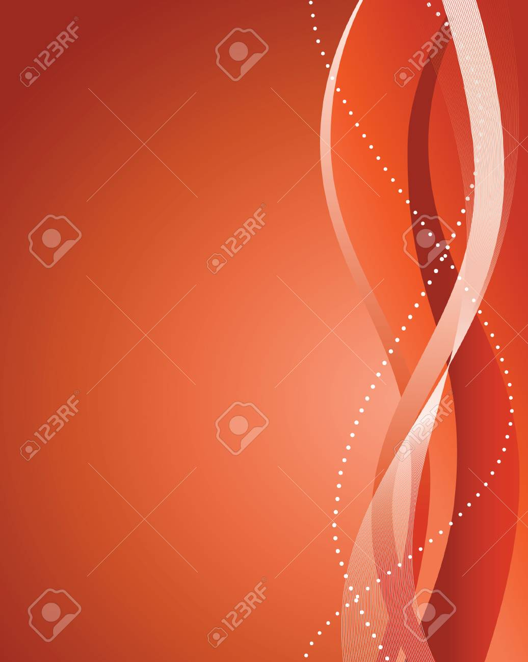 Abstract red background. illustration Stock Vector - 6829184