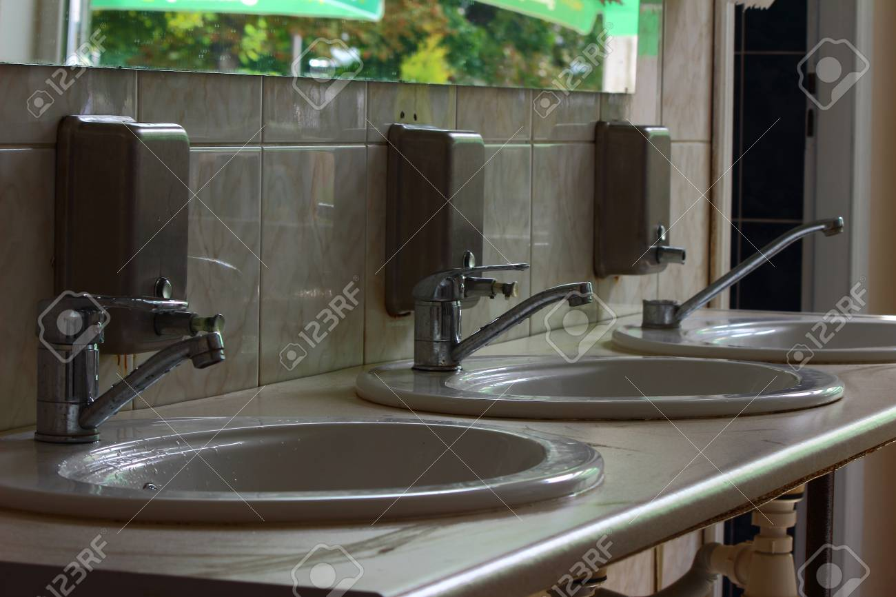 Toilet Sinks Stock Photo, Picture And Royalty Free Image. Image ...