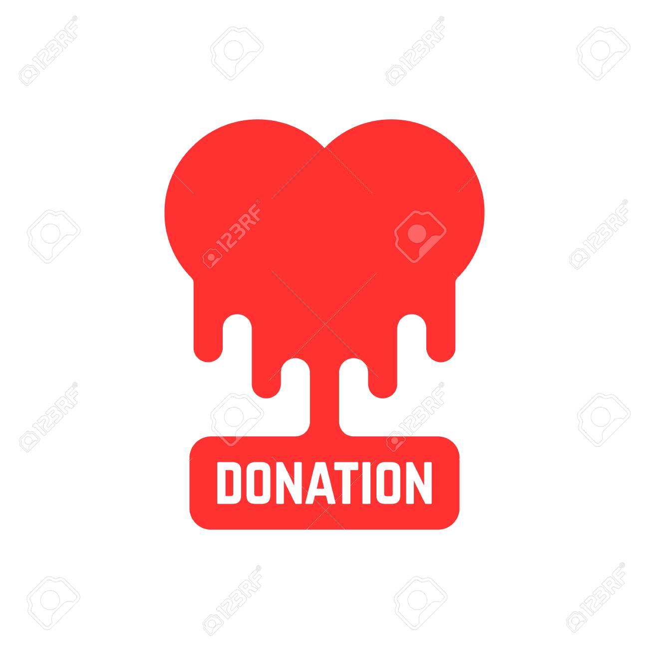 Donation icon with bleeding heart royalty free cliparts vectors donation icon with bleeding heart stock vector 72443958 buycottarizona
