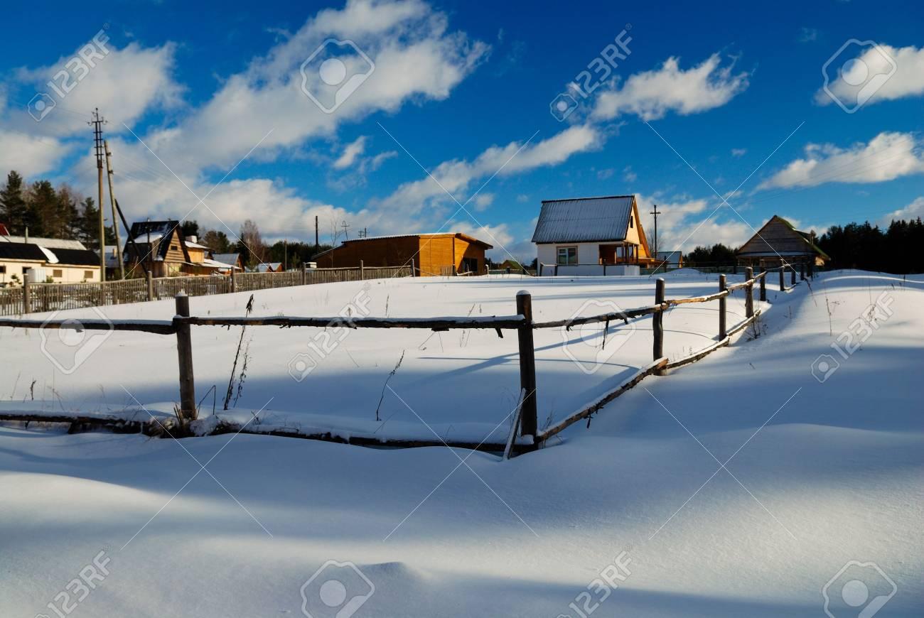 Winter landscape Stock Photo - 3677798