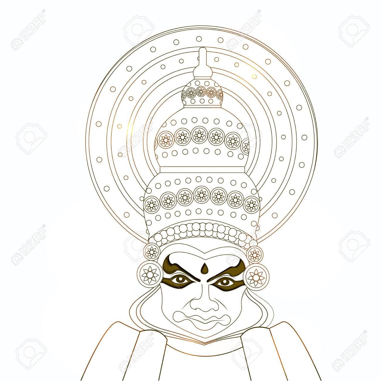 Illustration Of Hindu Festival Onam Background Boat Racing And Royalty Free Cliparts Vectors And Stock Illustration Image 82573532