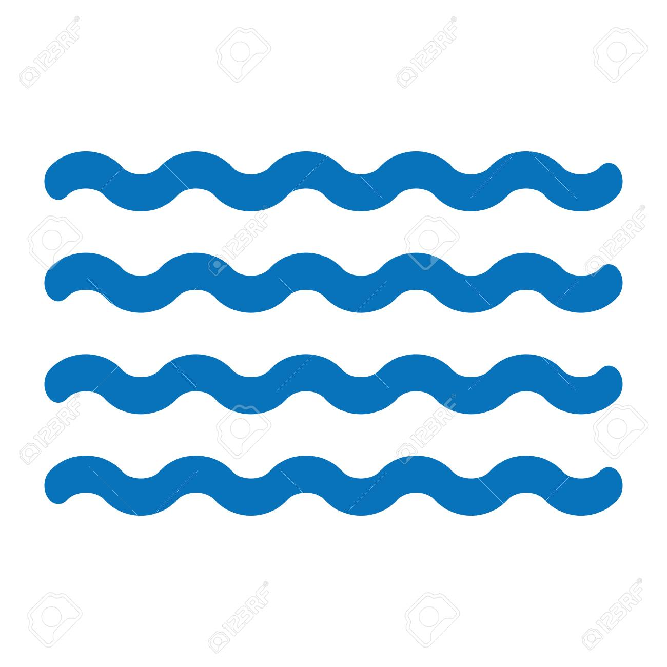 waves vector icon for minimalistic design in white background rh 123rf com wave vector image wave vector image