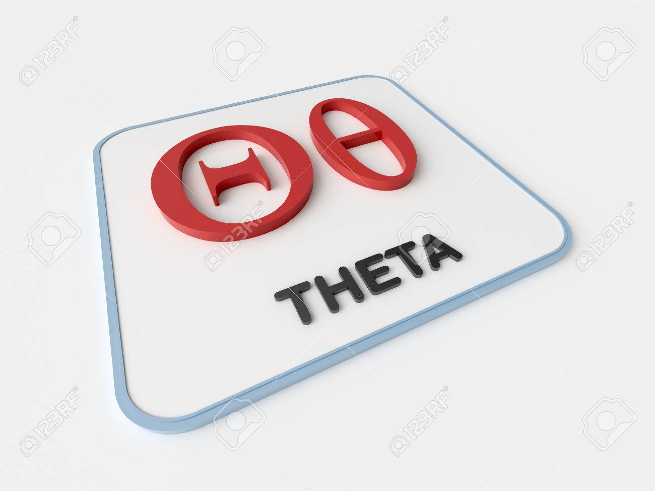 Theta greek symbol on white display board science and theta greek symbol on white display board science and mathematical concept stock photo 46428872 buycottarizona Images