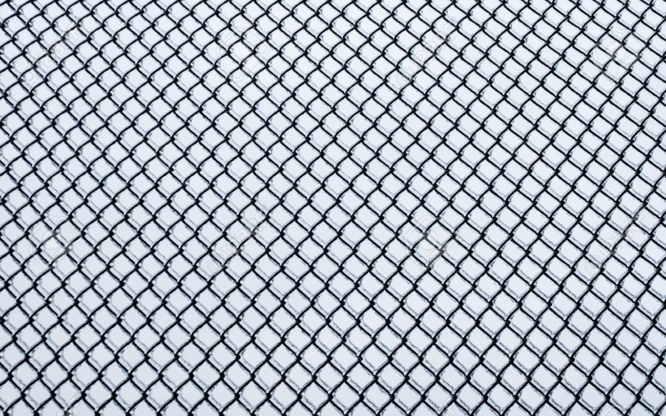 ice on chain link fence black small chainlink fence covered in ice on