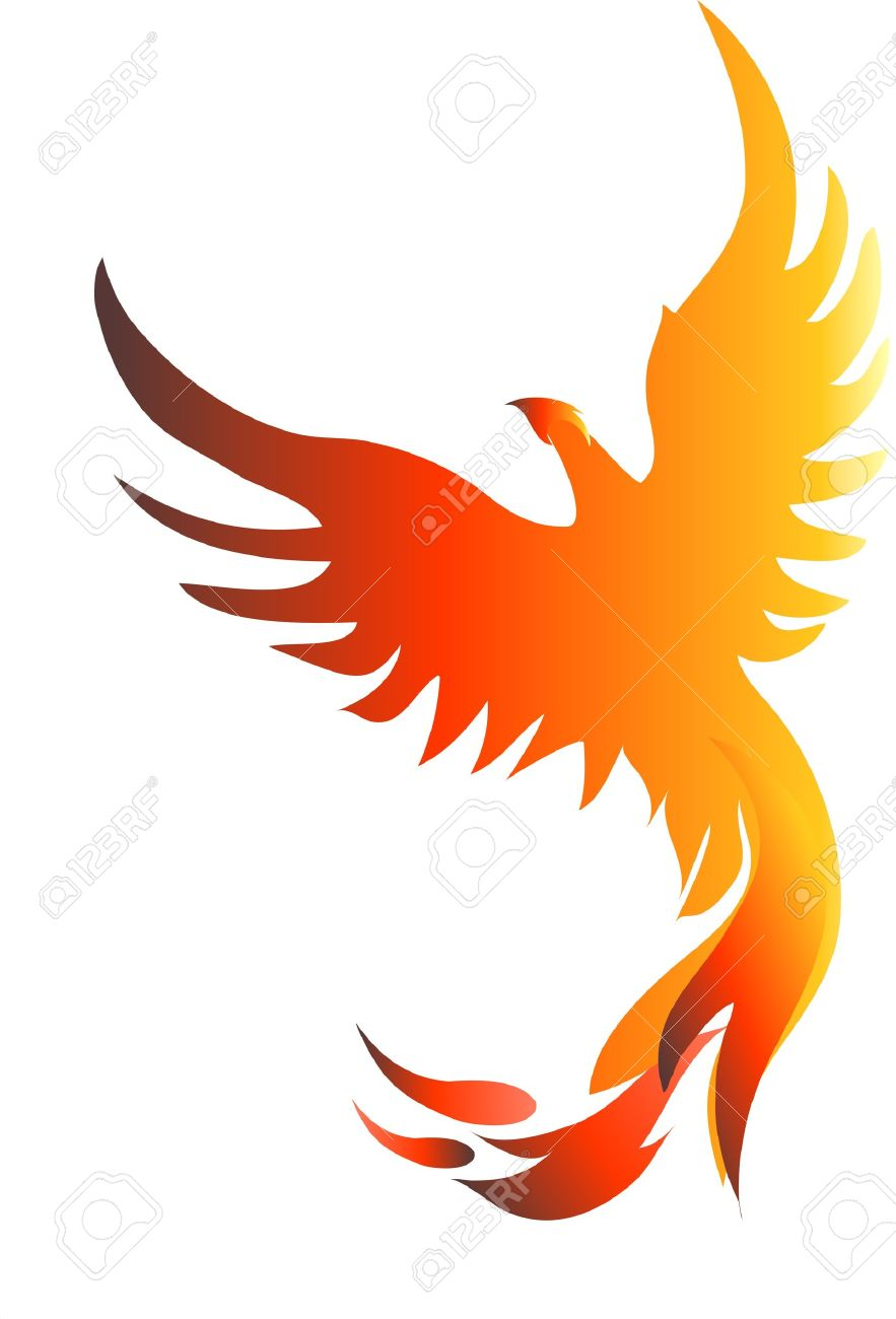 Rising Phoenix Royalty Free Cliparts Vectors And Stock