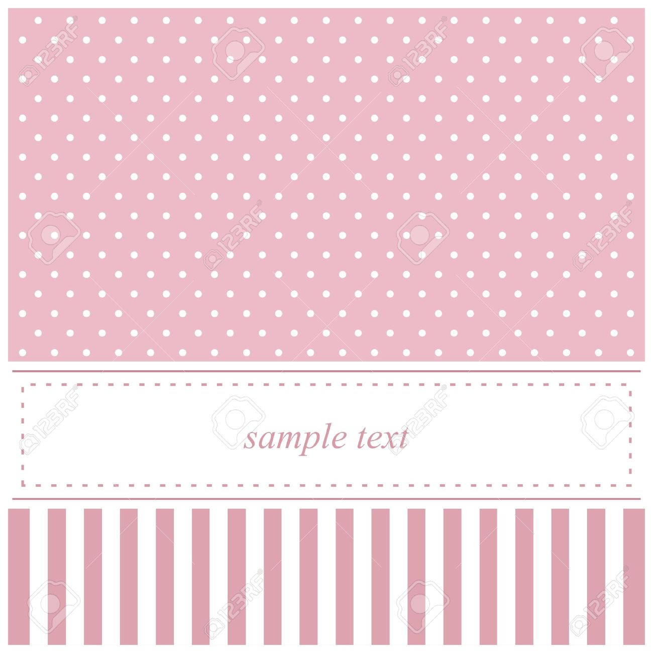 Sweet Pink Vector Card Baby Shower Or Wedding Invitation With Royalty Free Cliparts Vectors And Stock Illustration Image 13215055