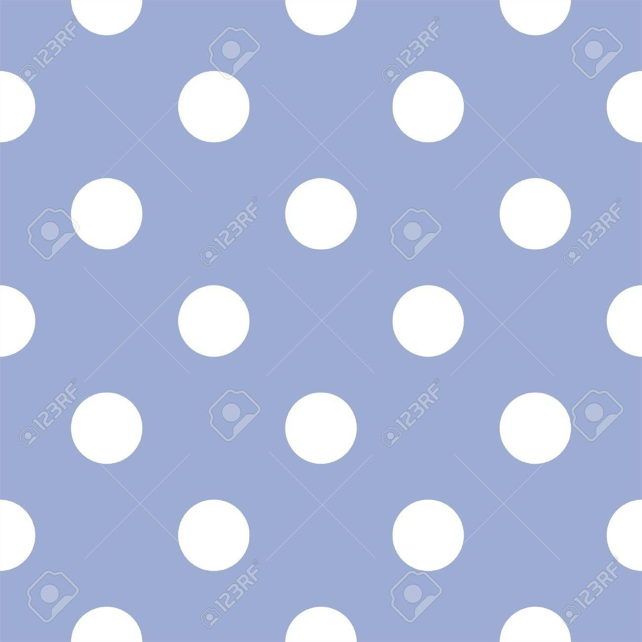 seamless pattern with huge white polka dots on a retro baby blue background. For cards, invitations, wedding or baby shower albums, backgrounds, arts and scrapbooks Stock Vector - 14270899