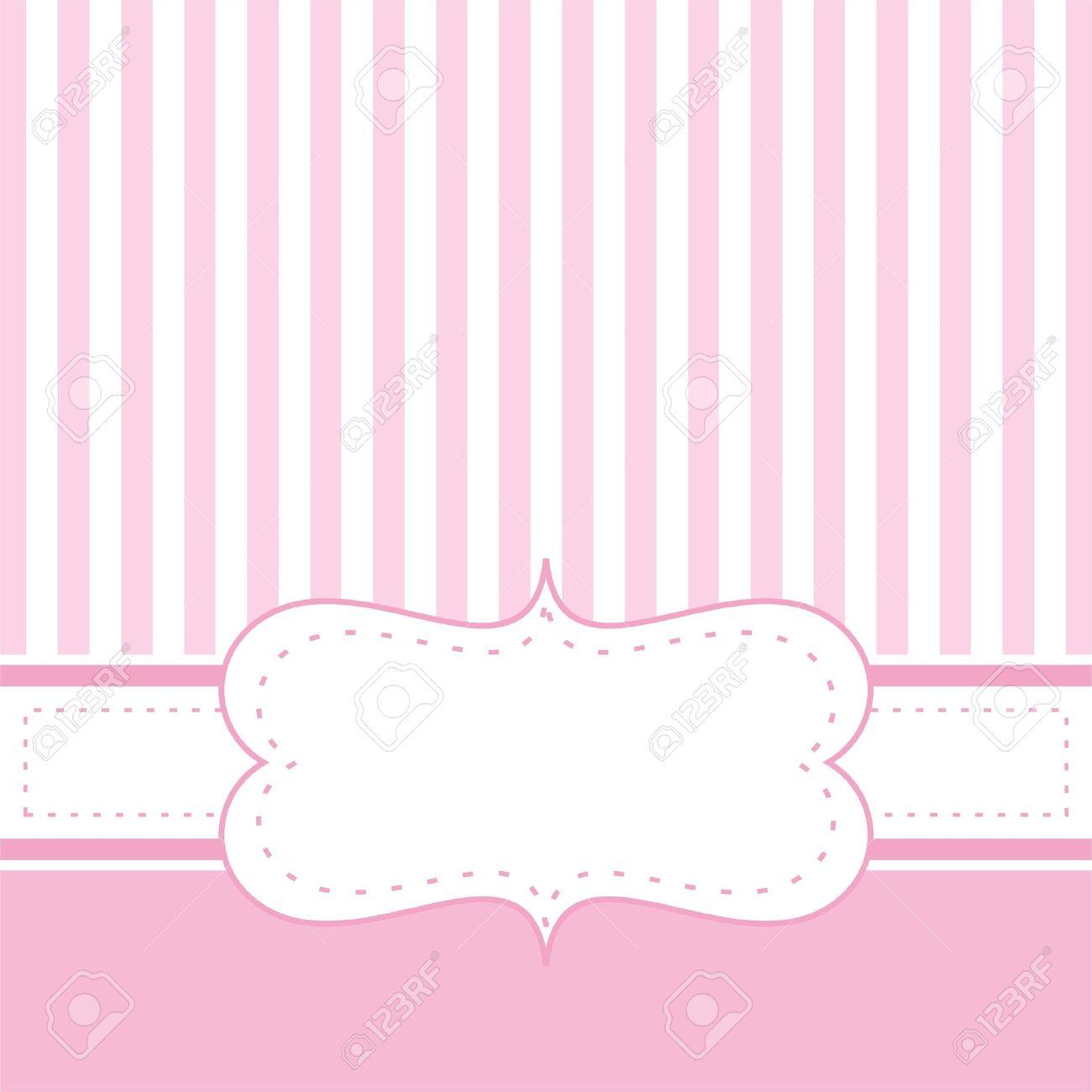 Karte Einladung Vorlage Für Baby Shower, Hochzeit Oder ...