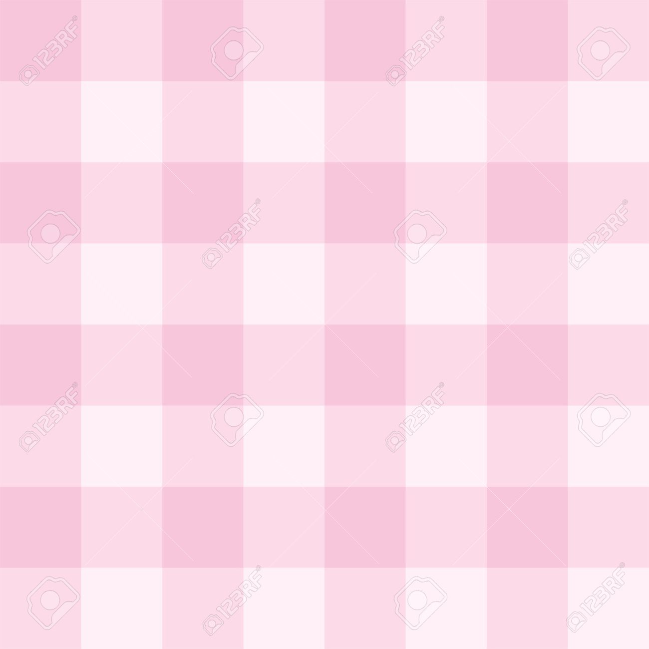 seamless sweet baby pink background - checkered pattern or grid