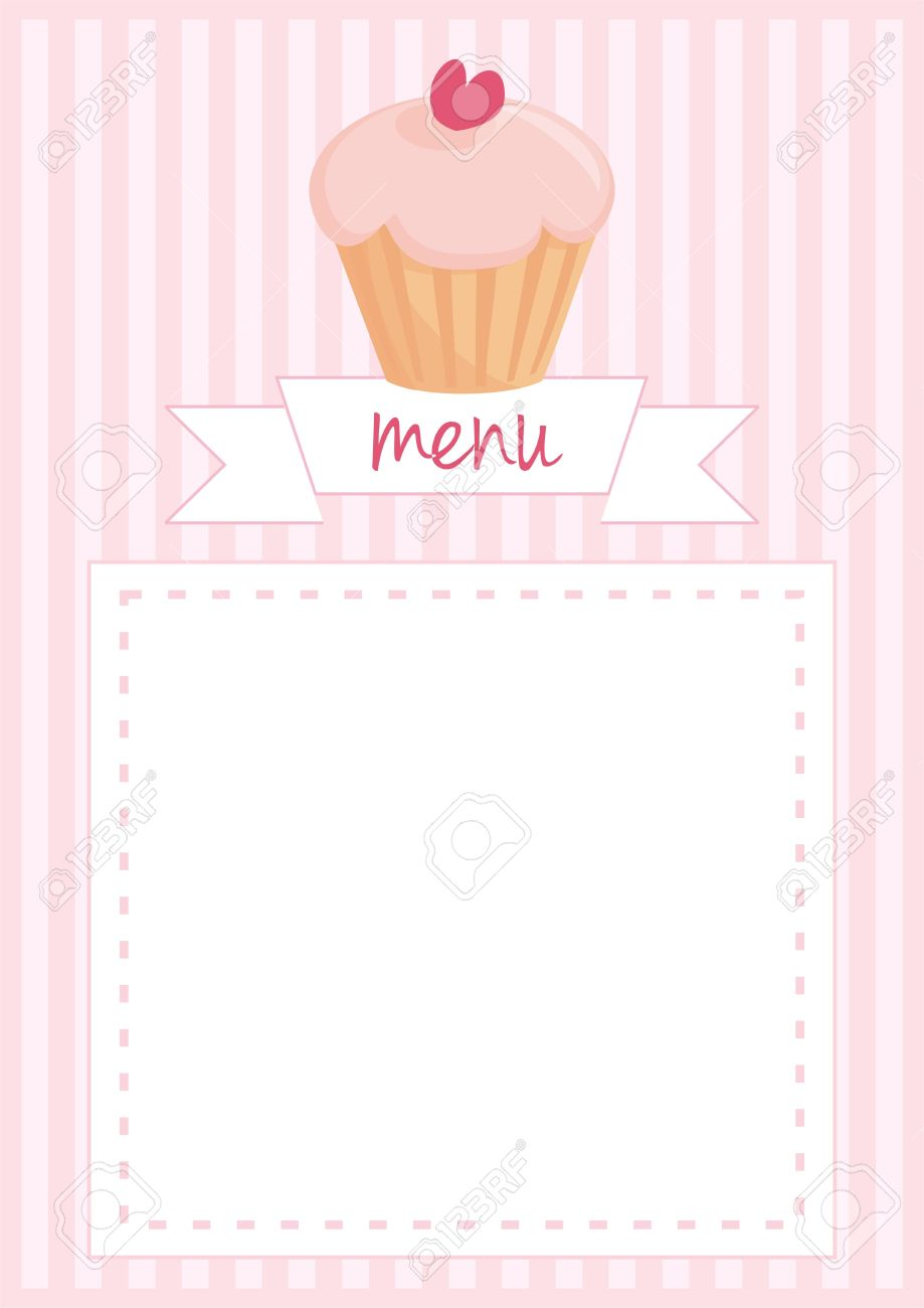 Button, Restaurant Menu, Wedding Vector Card, List Or Baby Shower ...