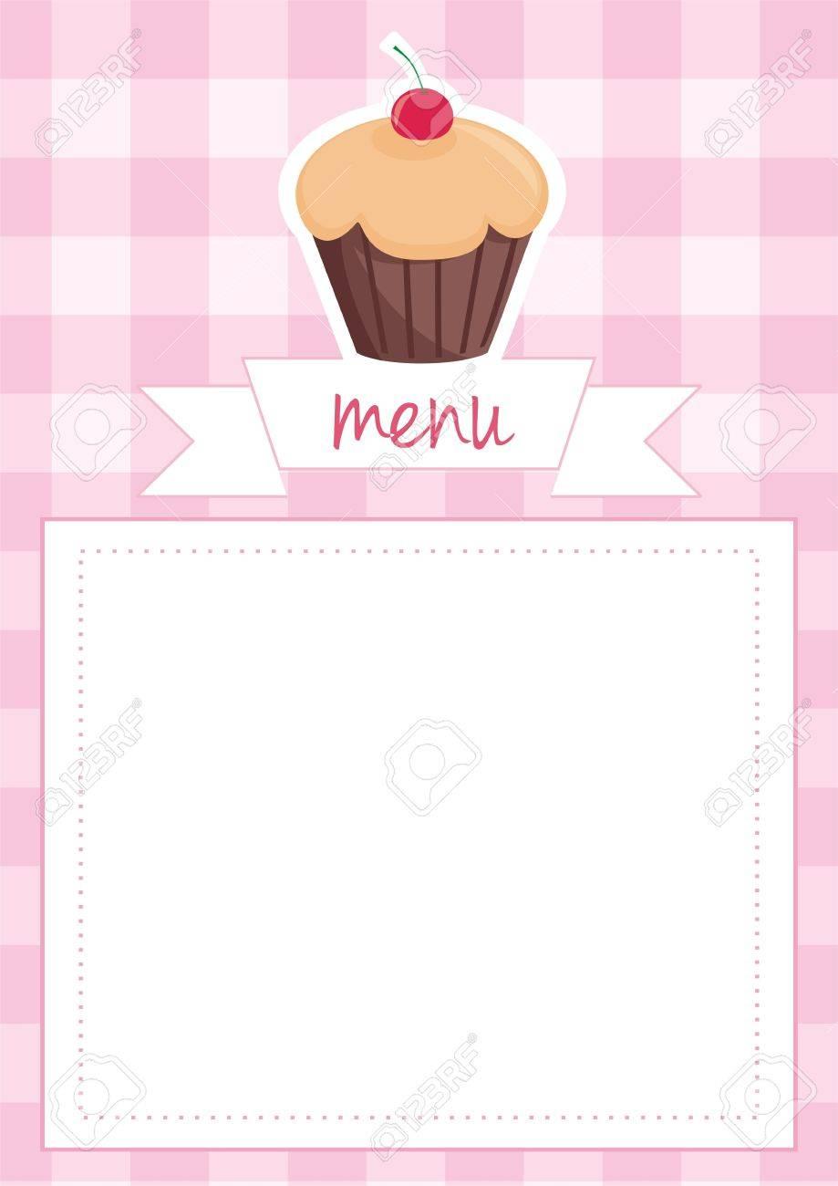 Restaurant Menu, Wedding Card, List Or Baby Shower Invitation ...