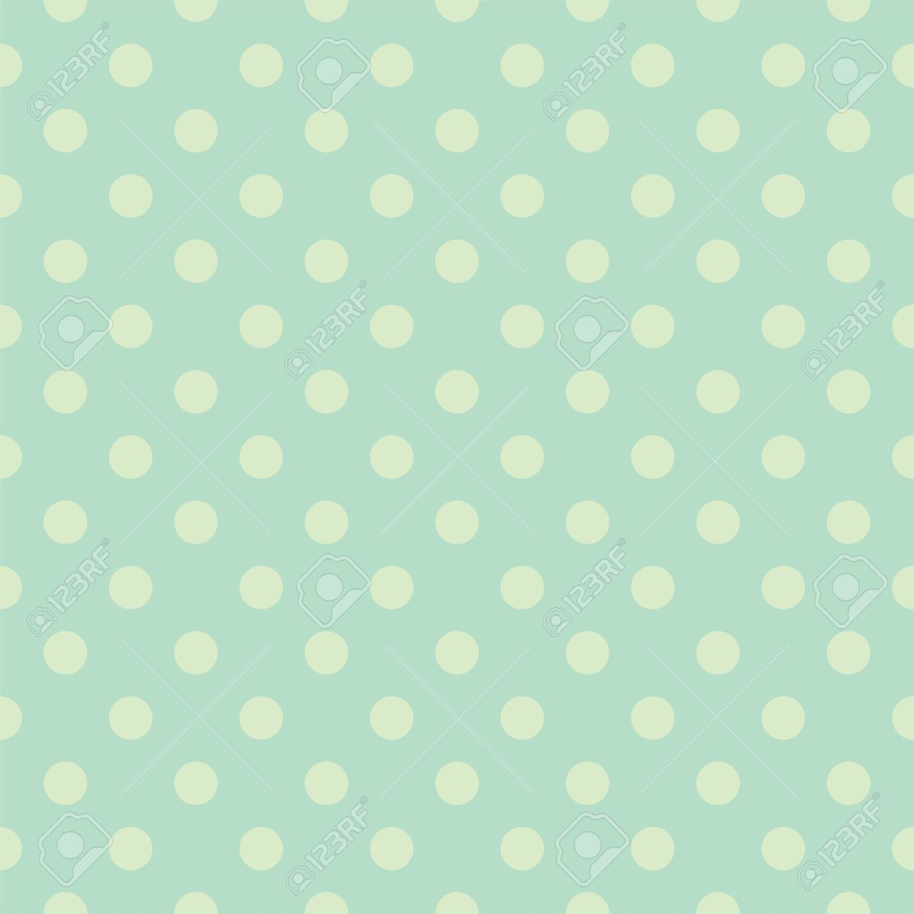 Seamless vector pattern with light green polka dots on a retro seamless vector pattern with light green polka dots on a retro vintage mint green background for voltagebd Images