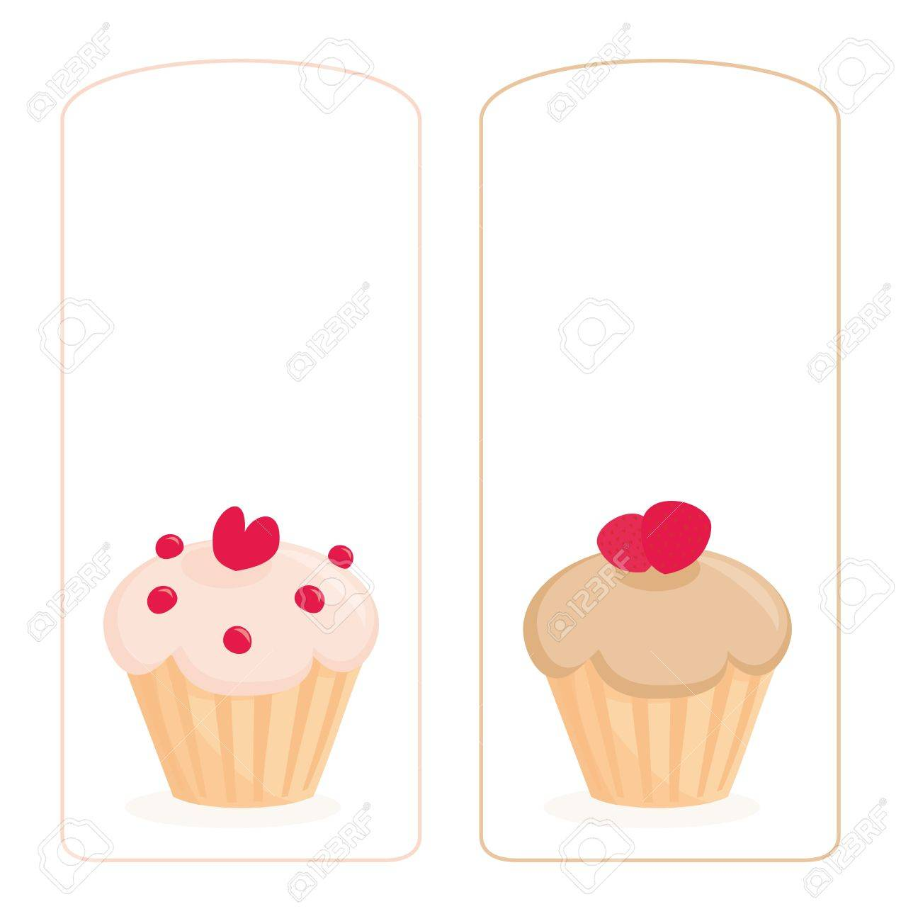 Vector Restaurant Menu, Wedding Card, List Or Baby Shower Invitation ...