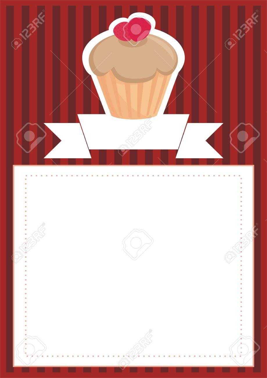 Retro Vector Restaurant Menu, Wedding Card, List Or Baby Shower ...