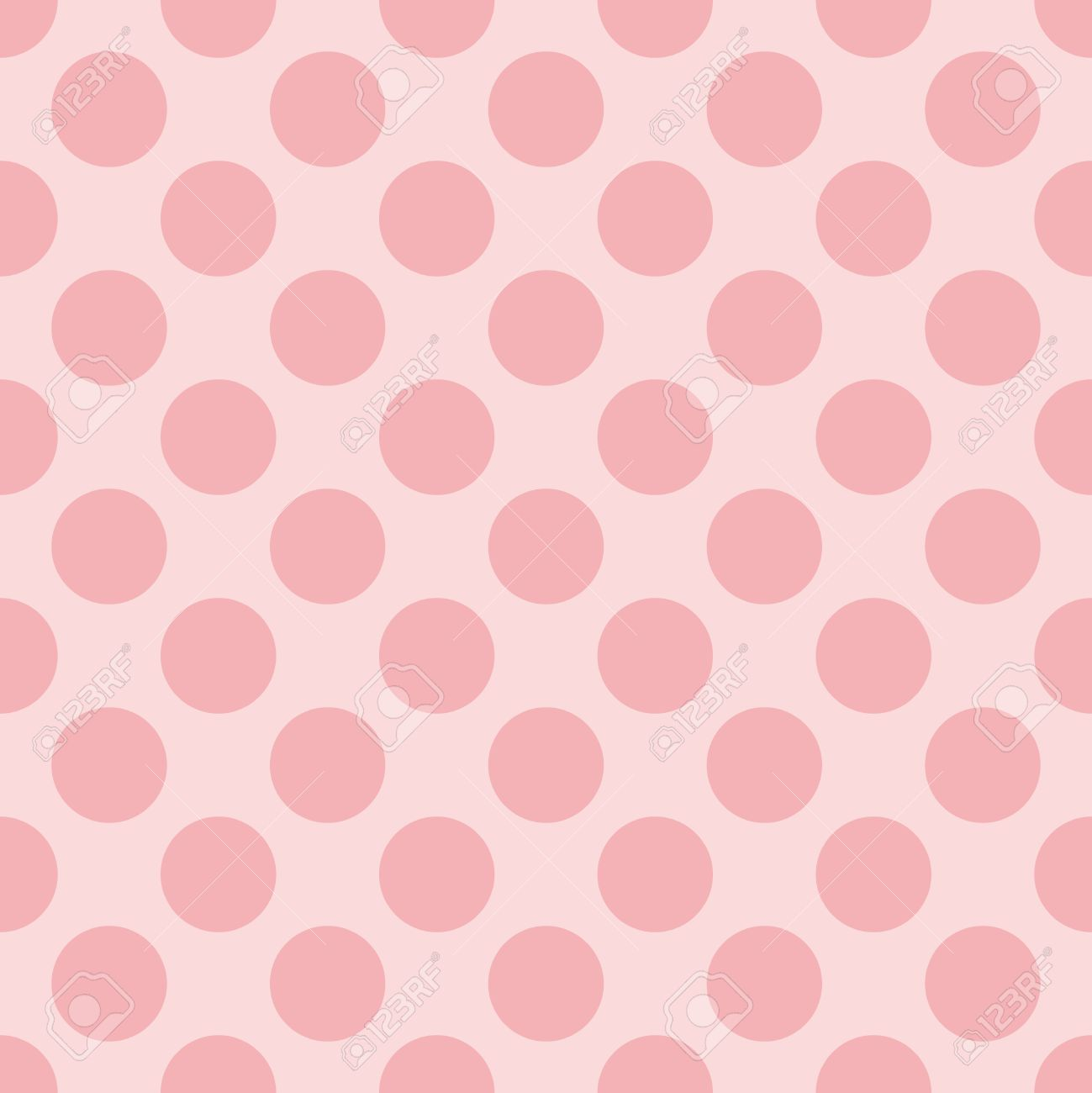 Seamless vector pastel pattern with dark pink polka dots on a seamless vector pastel pattern with dark pink polka dots on a sweet baby pink background for voltagebd Choice Image