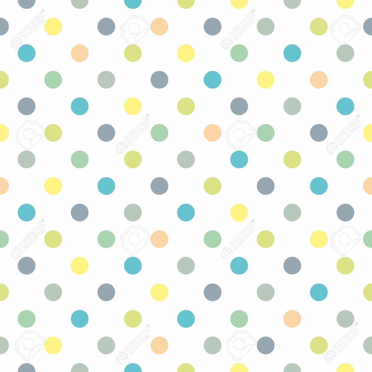 yellow green polka dot...