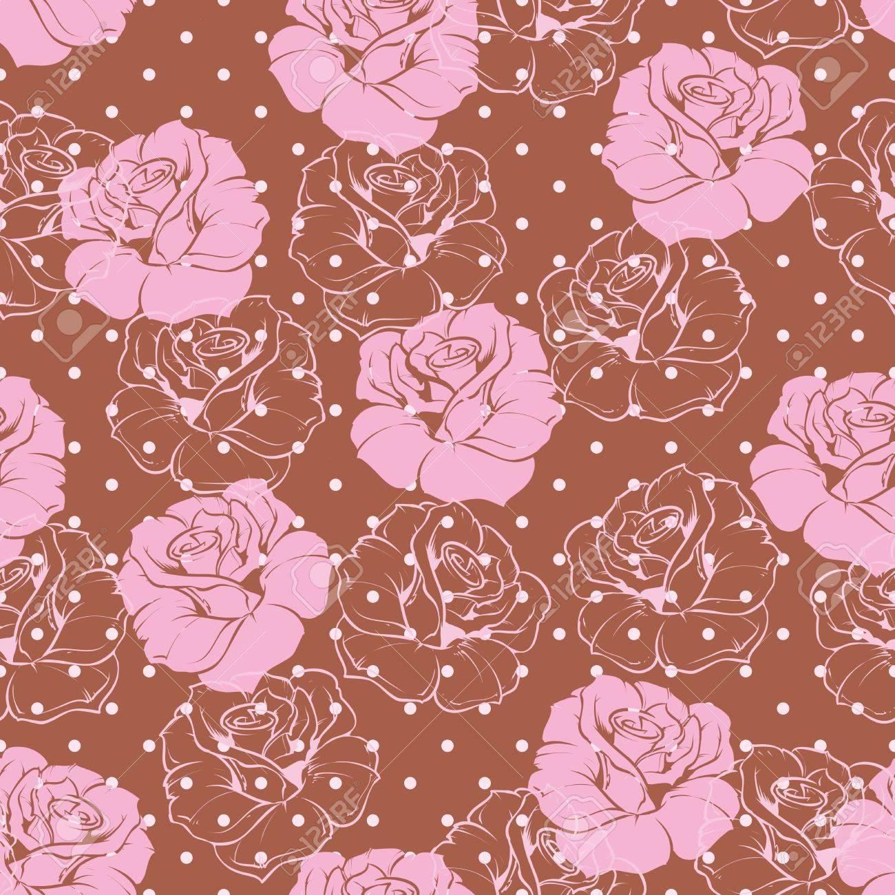patrn floral vector transparente de azulejos rosa elegante del rosa de fondo hermosa textura abstracta con