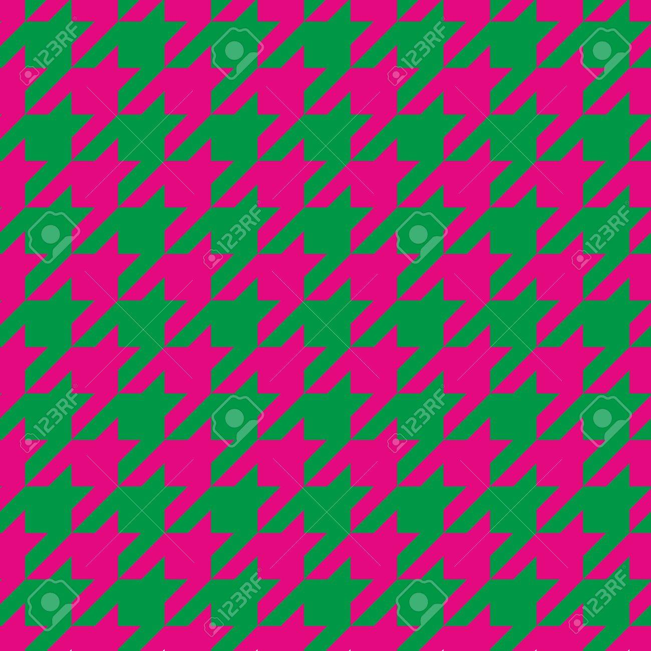 website colors neon : Houndstooth Seamless Vector Pattern Traditional Scottish Plaid Fabric For Colorful Website Background Or Desktop Wallpaper In