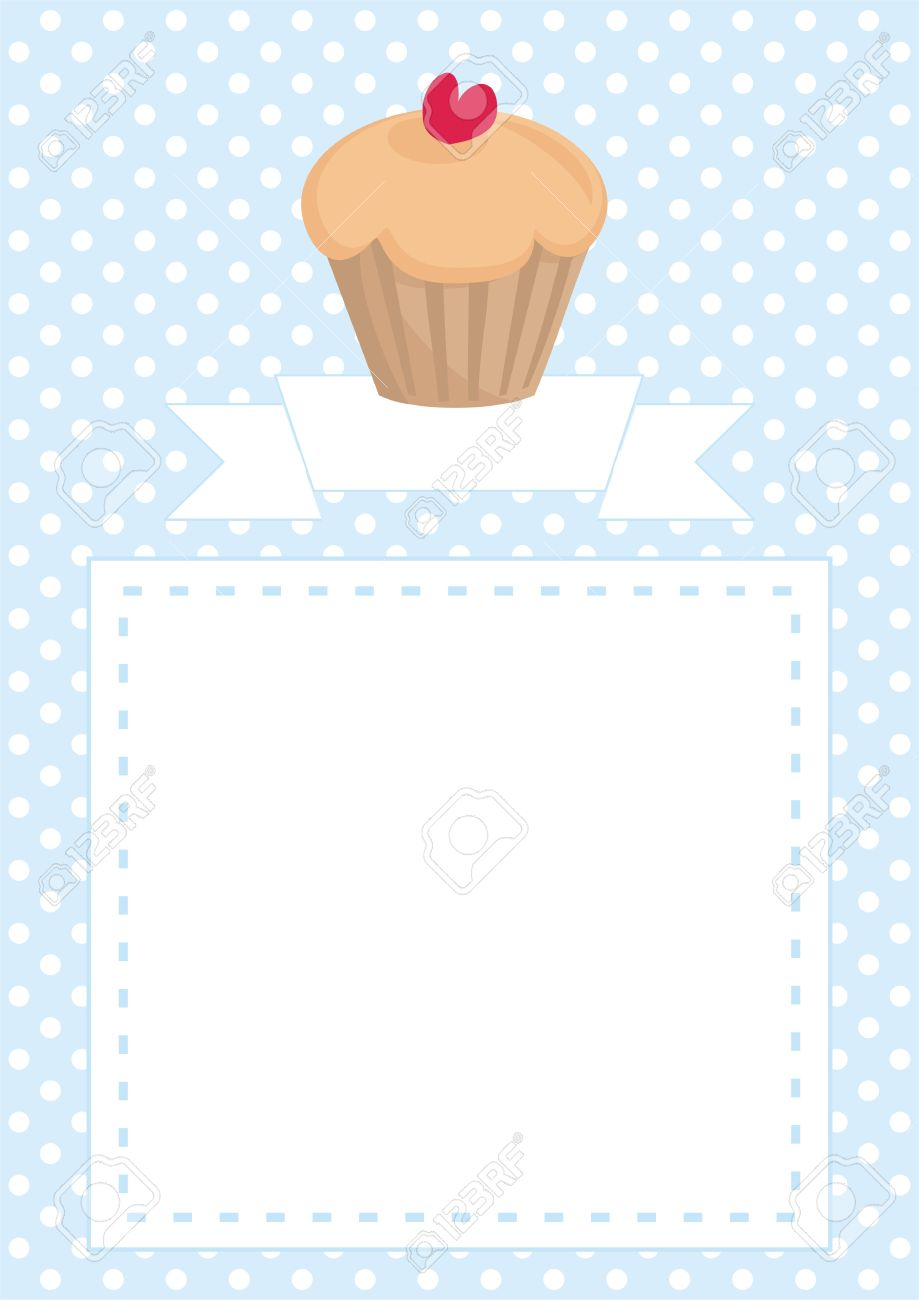 Restaurant Vector Menu Template, Wedding Card, List Or Baby Shower ...