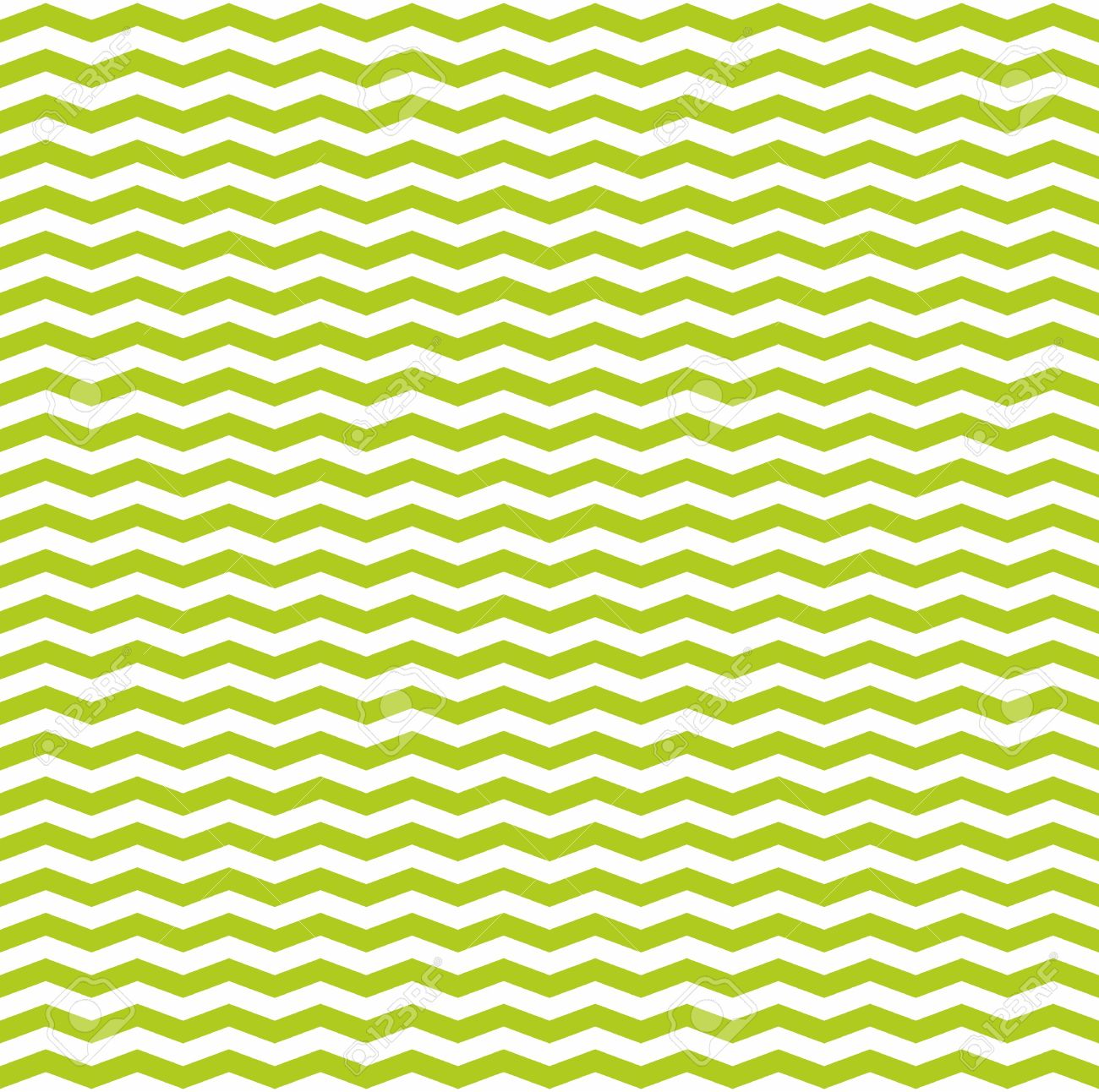 tile vector spring pattern with white and green zig zag print