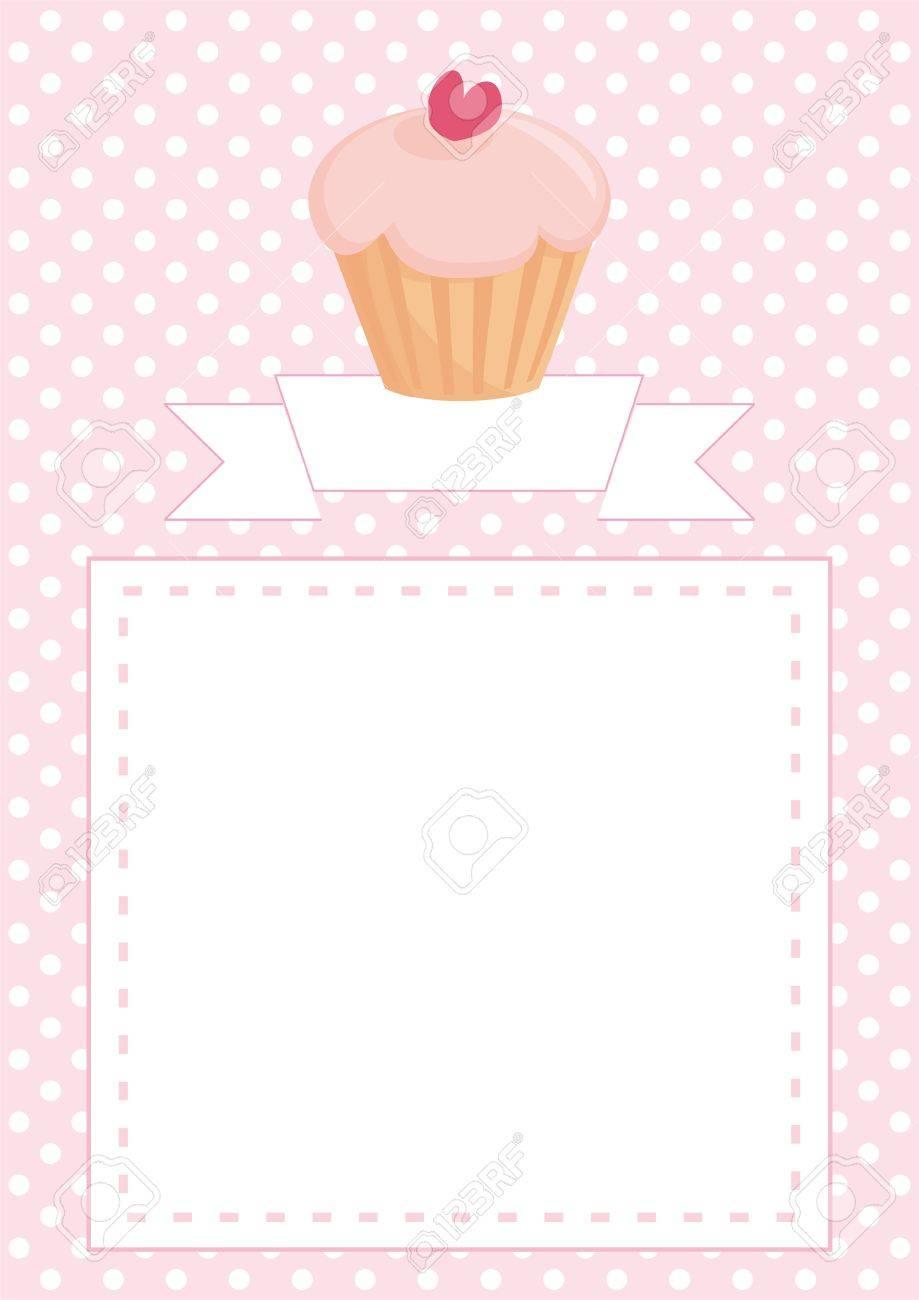Restaurant vector menu wedding card list or baby shower invitation restaurant vector menu wedding card list or baby shower invitation with sweet retro cupcake stopboris Image collections