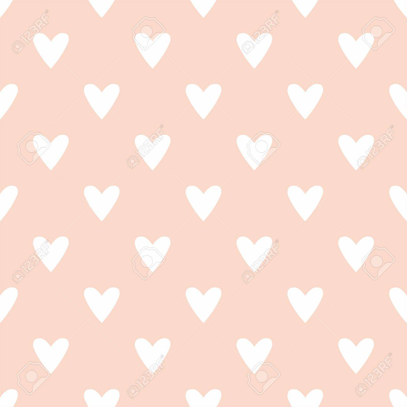 Tile cute pattern with white hearts on pastel pink background tile cute pattern with white hearts on pastel pink background stock vector 39565487 voltagebd Gallery