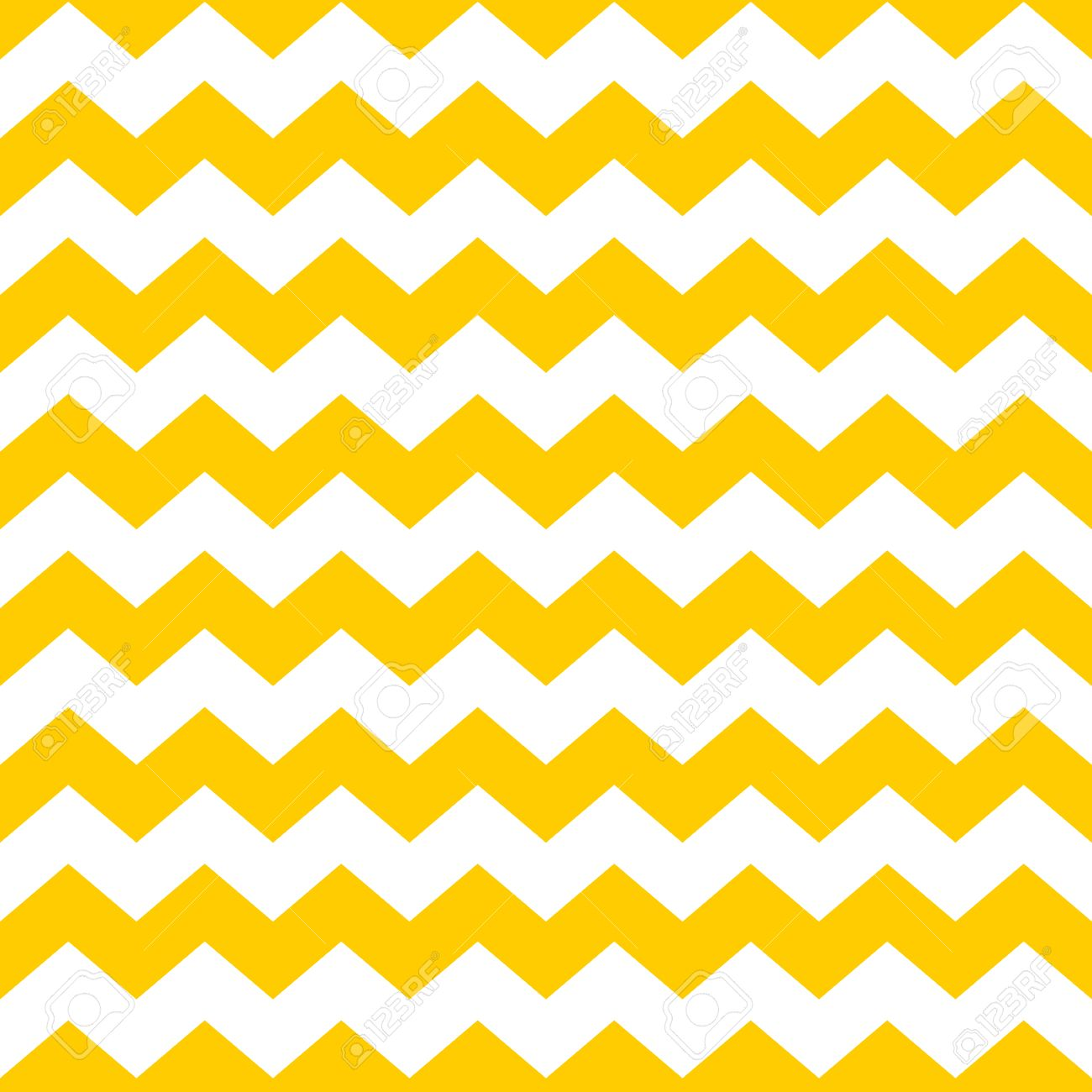 Tile chevron vector pattern with yellow and white zig zag background Stock  Vector - 45662107