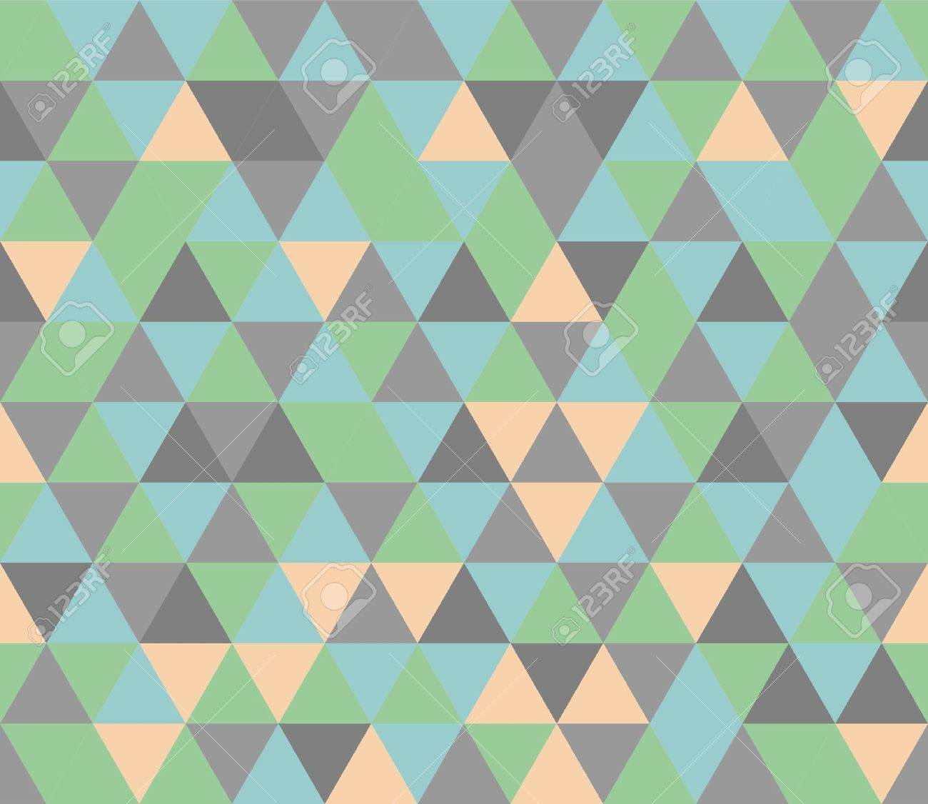 Colorful Tile Vector Background Illustration With Gray, Orange ...