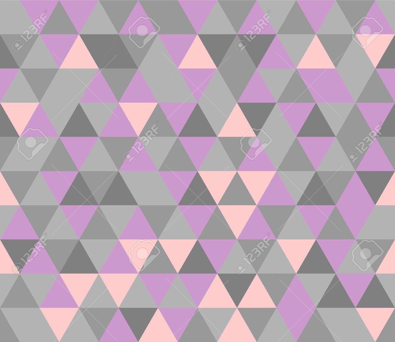 Violette Tile De Surface D Emballage Plat Et Gris Modele Vectoriel