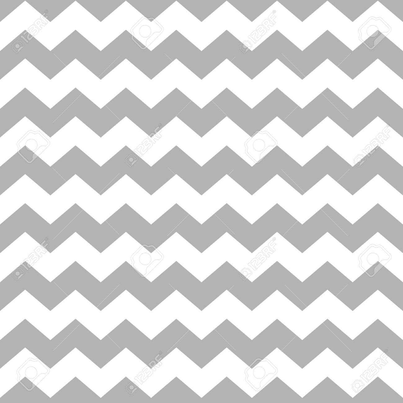 Tile Vektor-Muster Mit Weißen Und Grauen Zick-Zack-Hintergrund ...