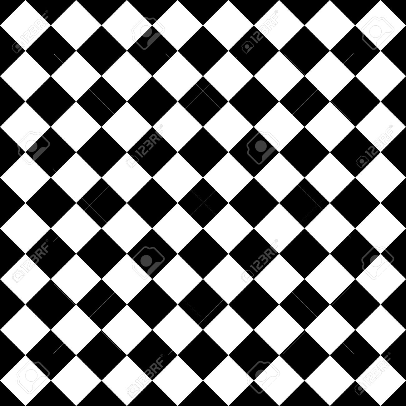 Tile Black And White Vector Pattern Or Website Background Royalty ...