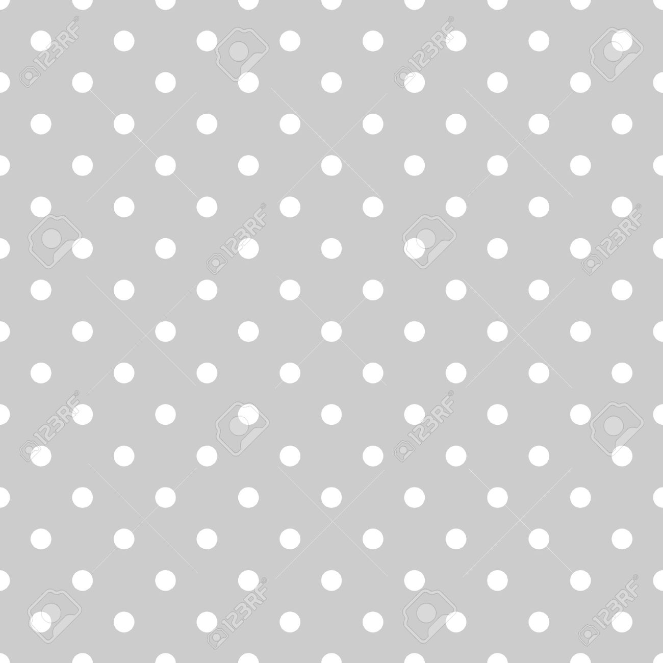 Seamless white and grey pattern or tile background with small polka dots for desktop wallpaper